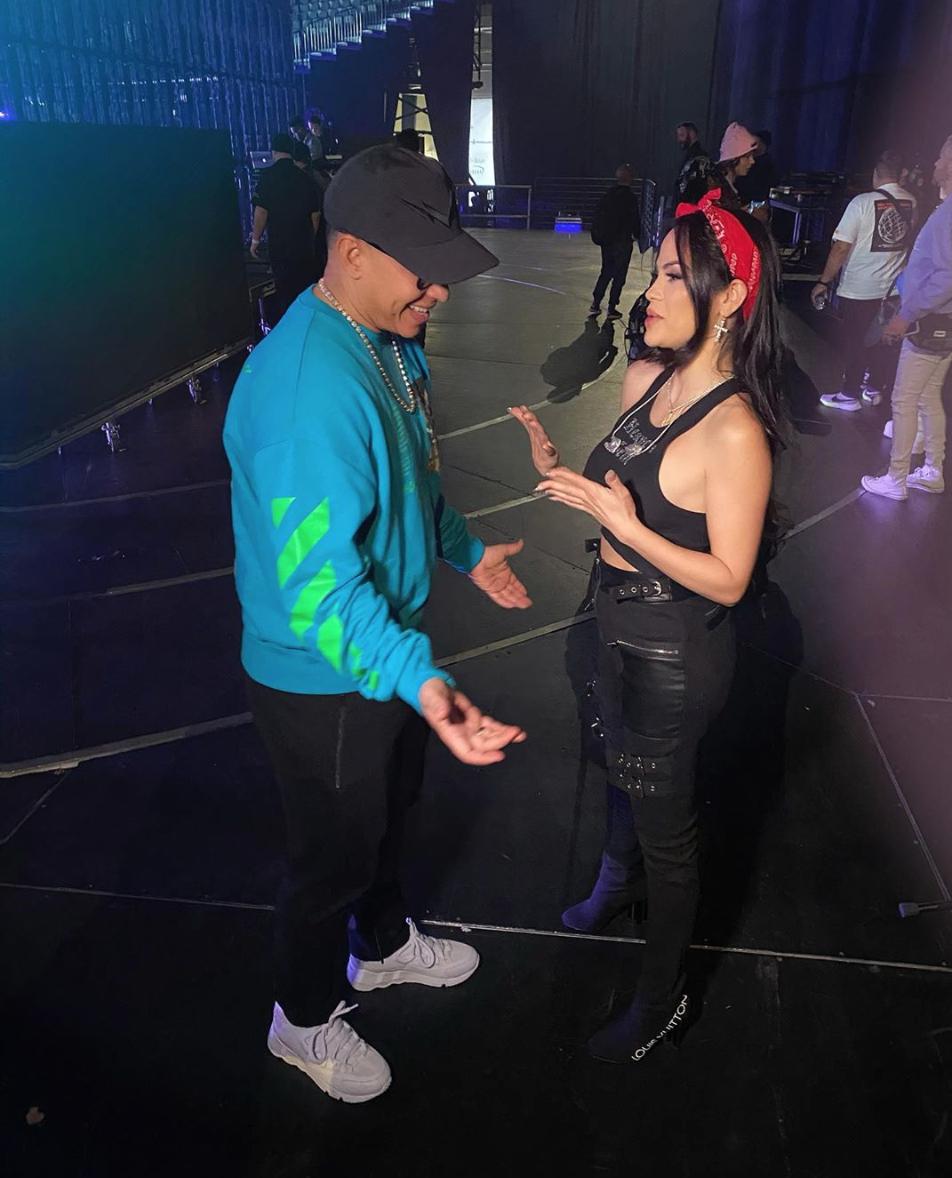Natti Natasha con Daddy Yankee