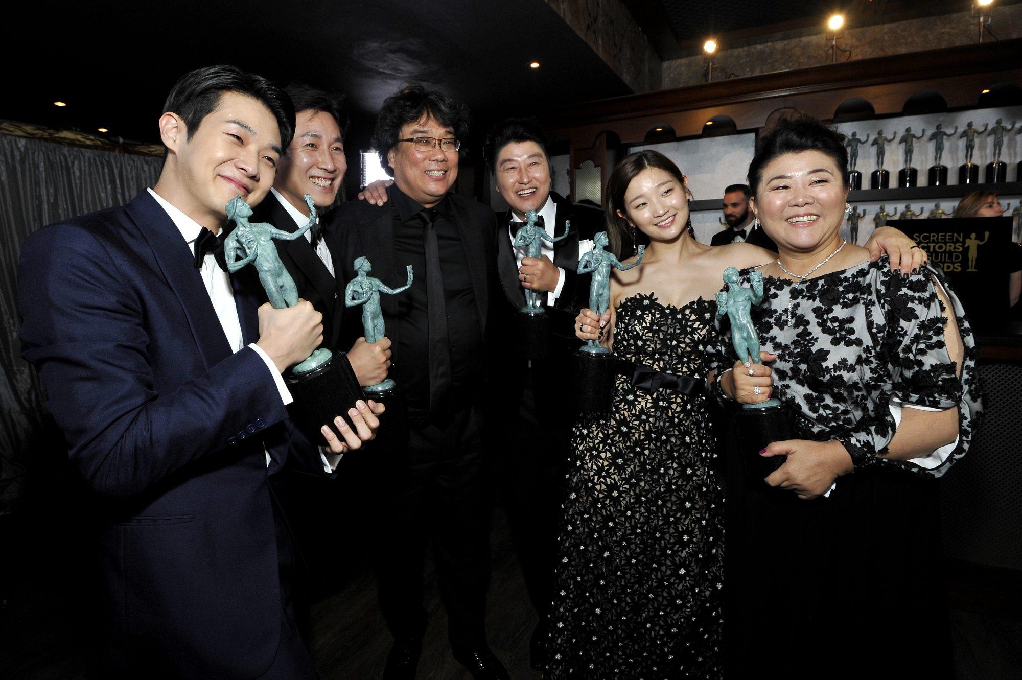 26th Annual Screen ActorsGuild Awards - Trophy Room