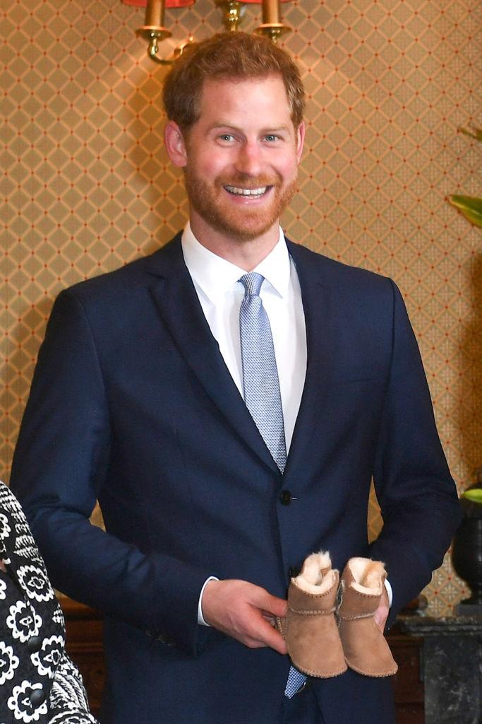 Príncipe Harry botitas Archie