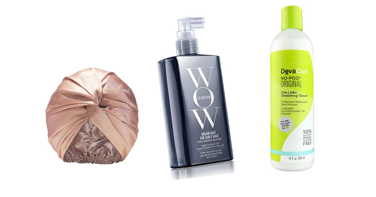 Productos cabello rizado