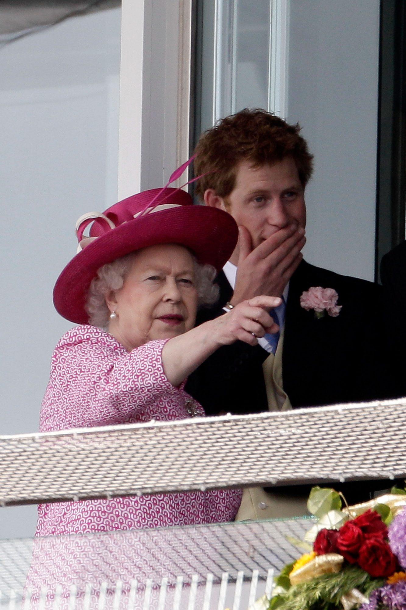 príncipe Harry reina Isabel