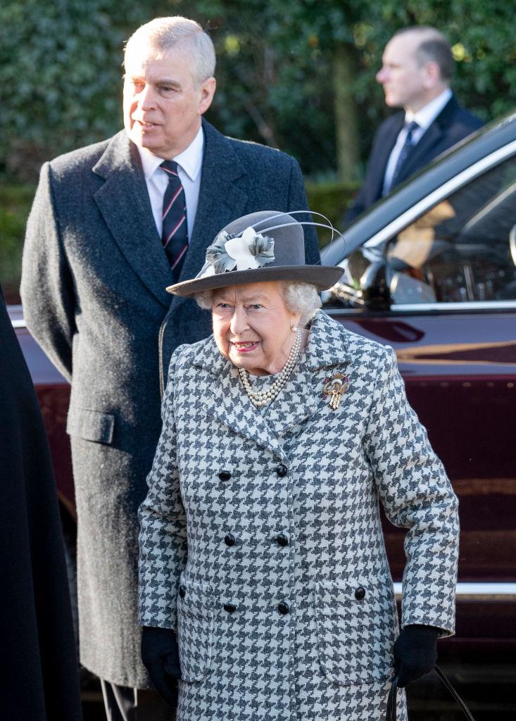 Reina Isabel Príncipe Andrés