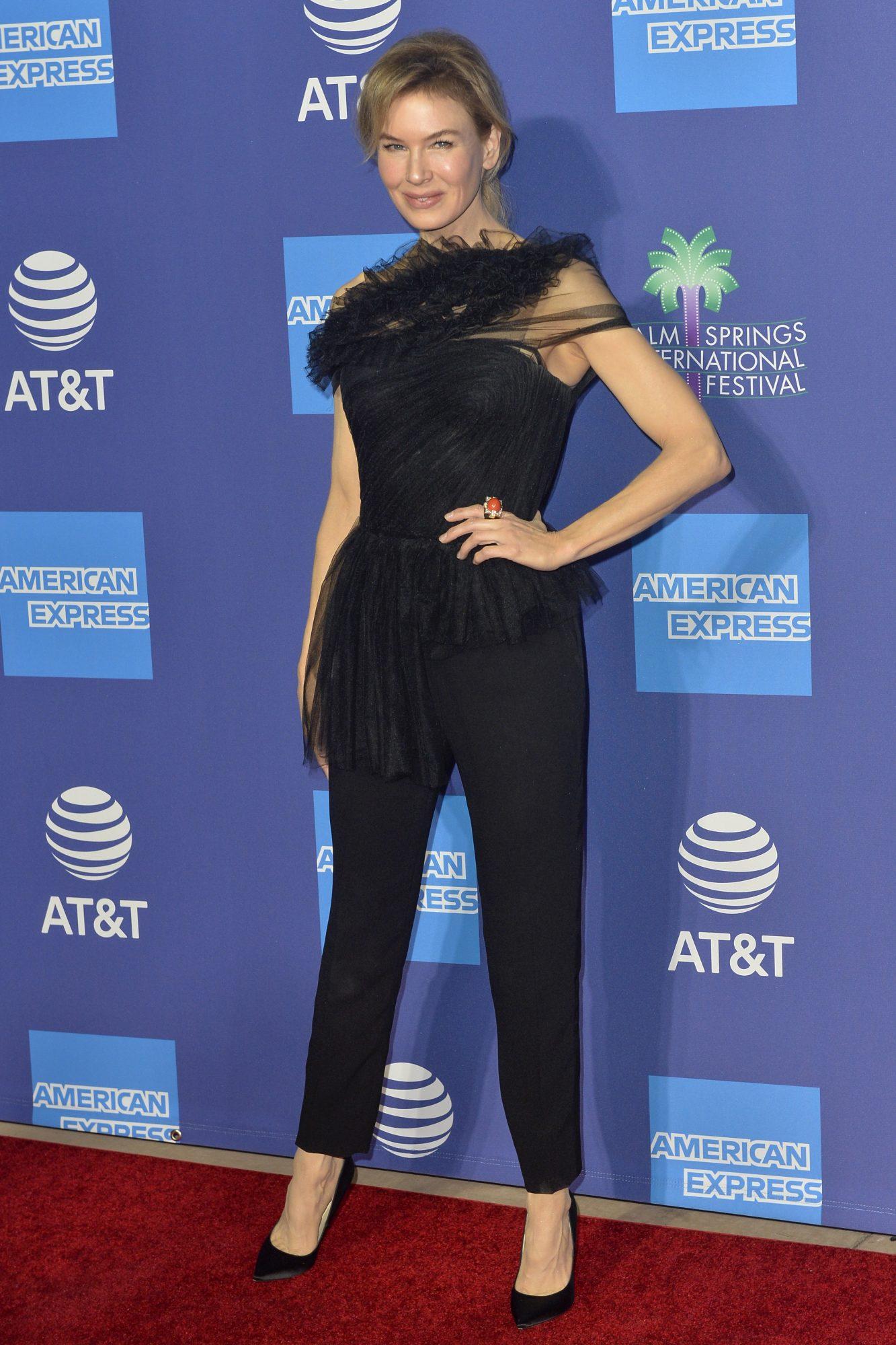 Renee Zellweger, look, Palm Springs International Film Festival Film