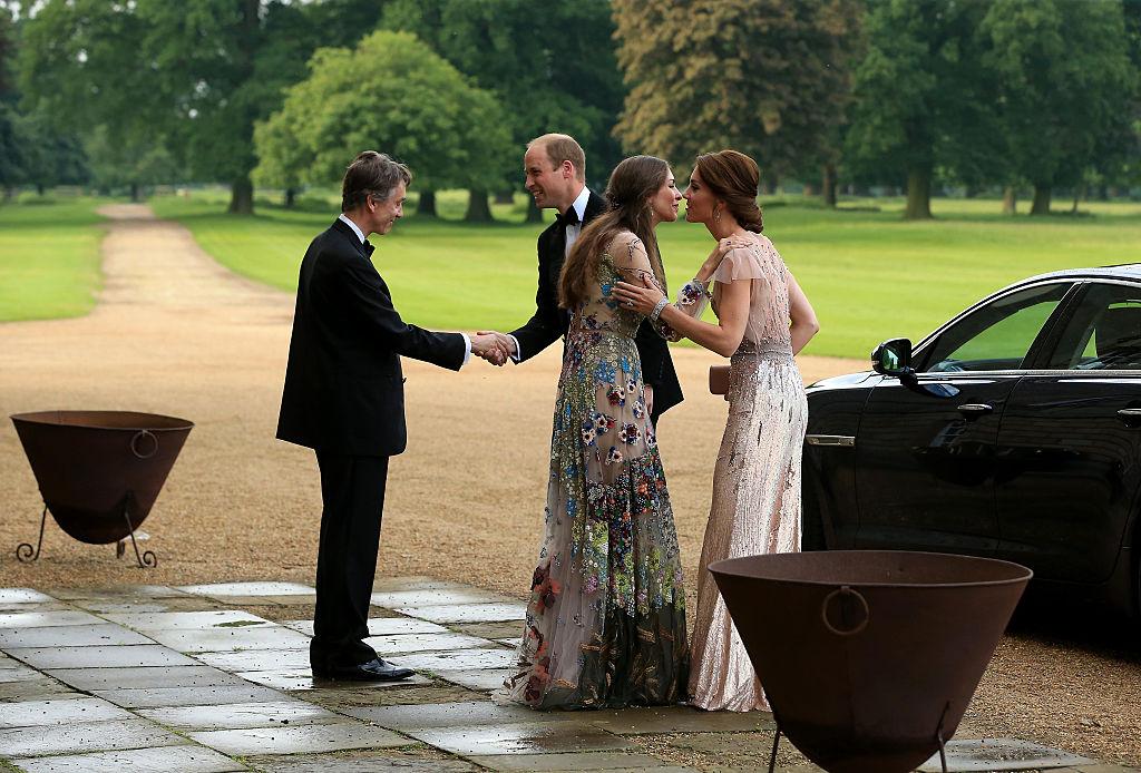 marqueses Cholmondeley y duques Cambridge