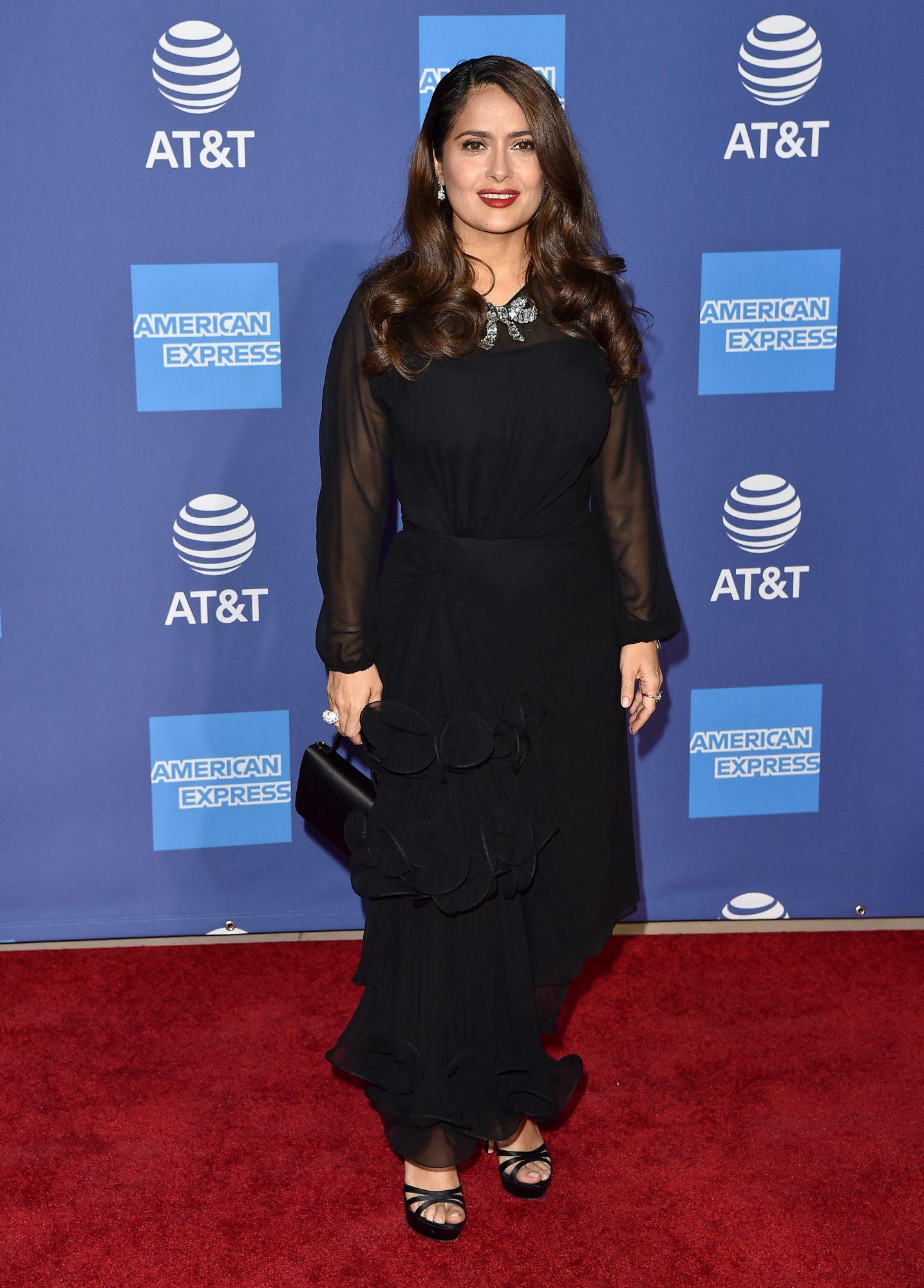Salma Hayek, look, Palm Springs International Film Festival Film Awards