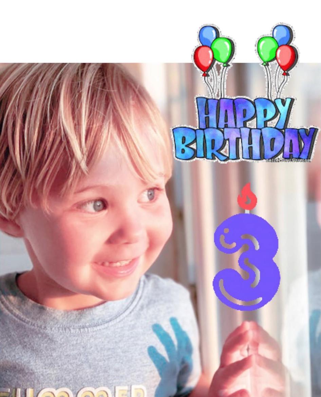 El hijo de Anahí, Manuel, cumpleaños