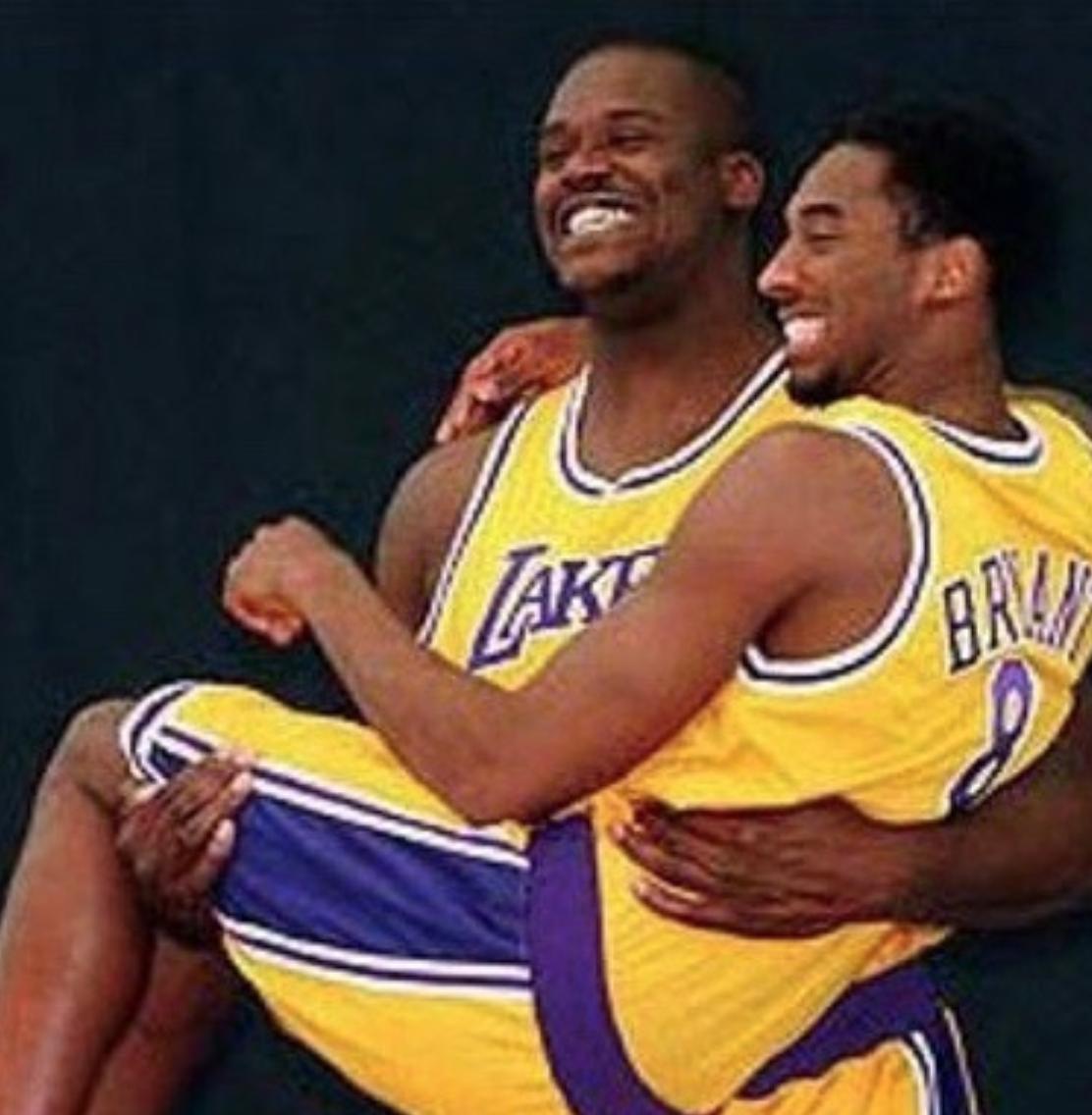 Shaq y Kobe Bryant