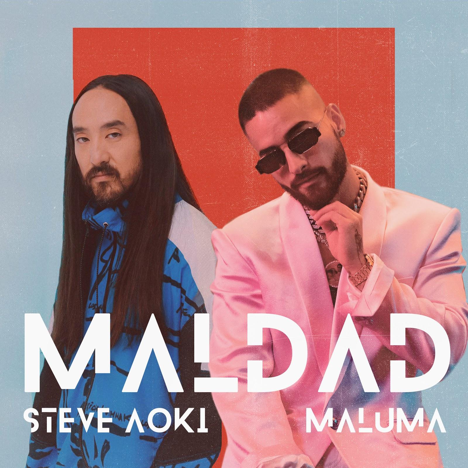 Steve Aoki & Maluma - Maldad Cover Art