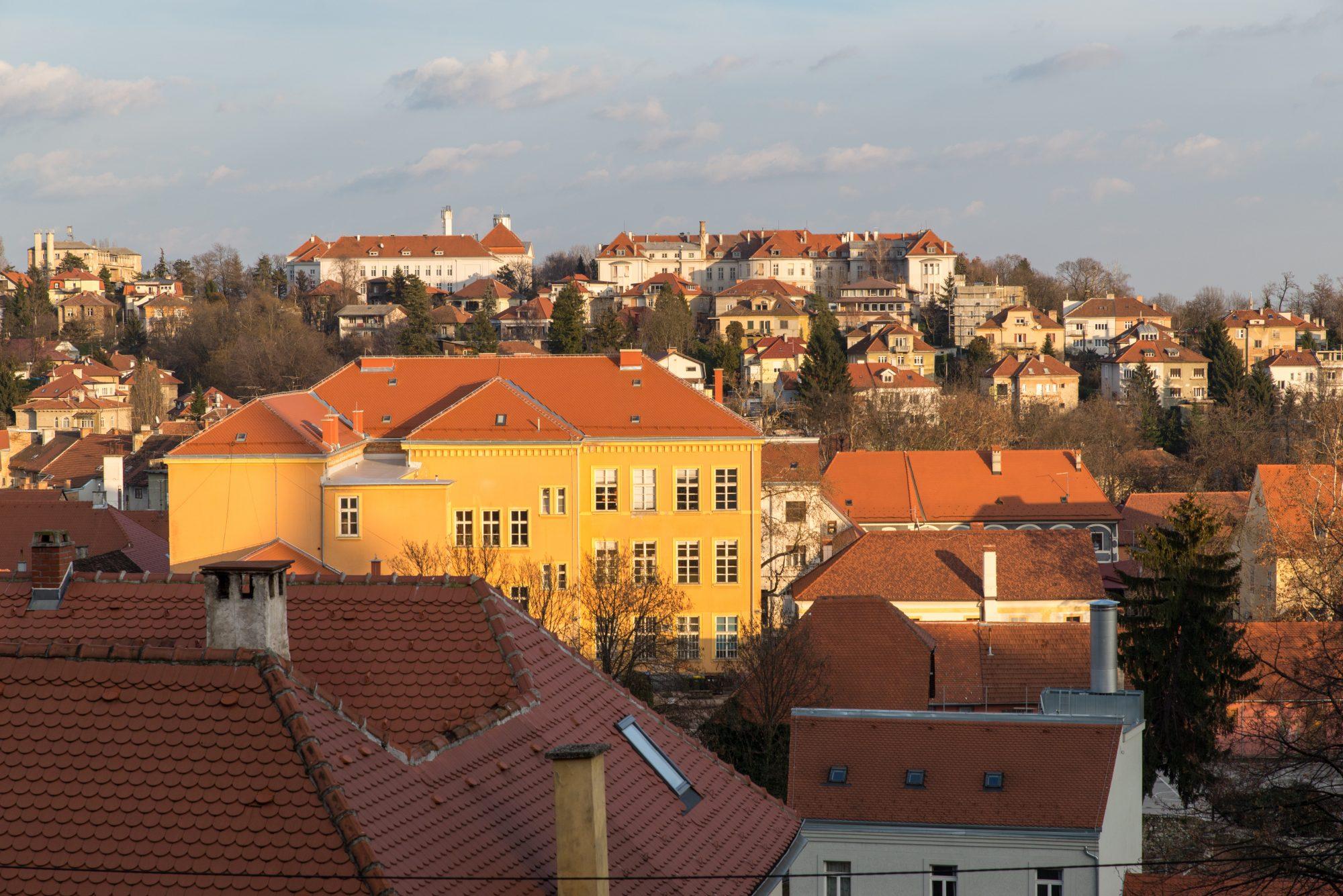 Panorama, Zagreb, Croatia.