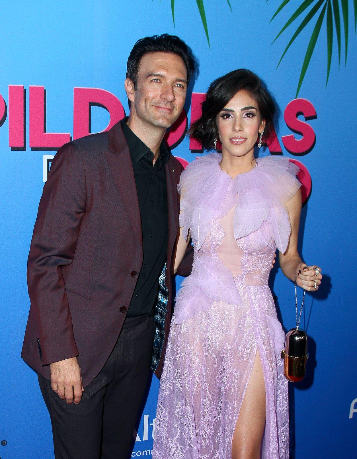 """Sandra Echeverría y Leonardo de Lozanne en la premiere de """"Las Píldoras de mi Novio"""""""