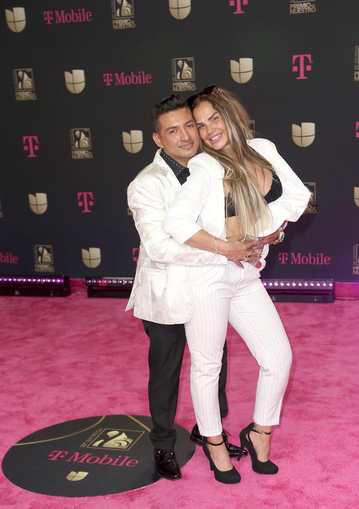 Niurka Marcos con su novio