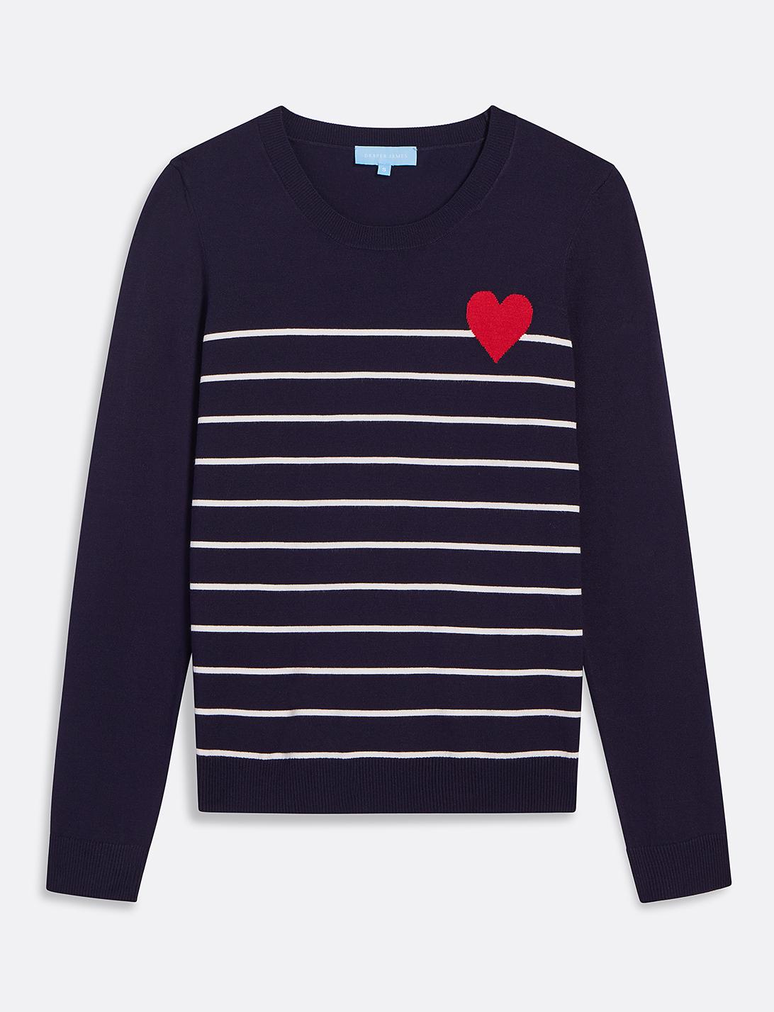 Draper James suéter San Valentín