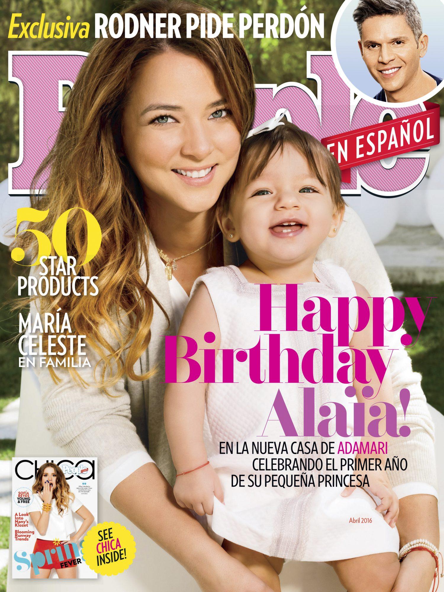 Abril 2016 Adamari Lopez Cover