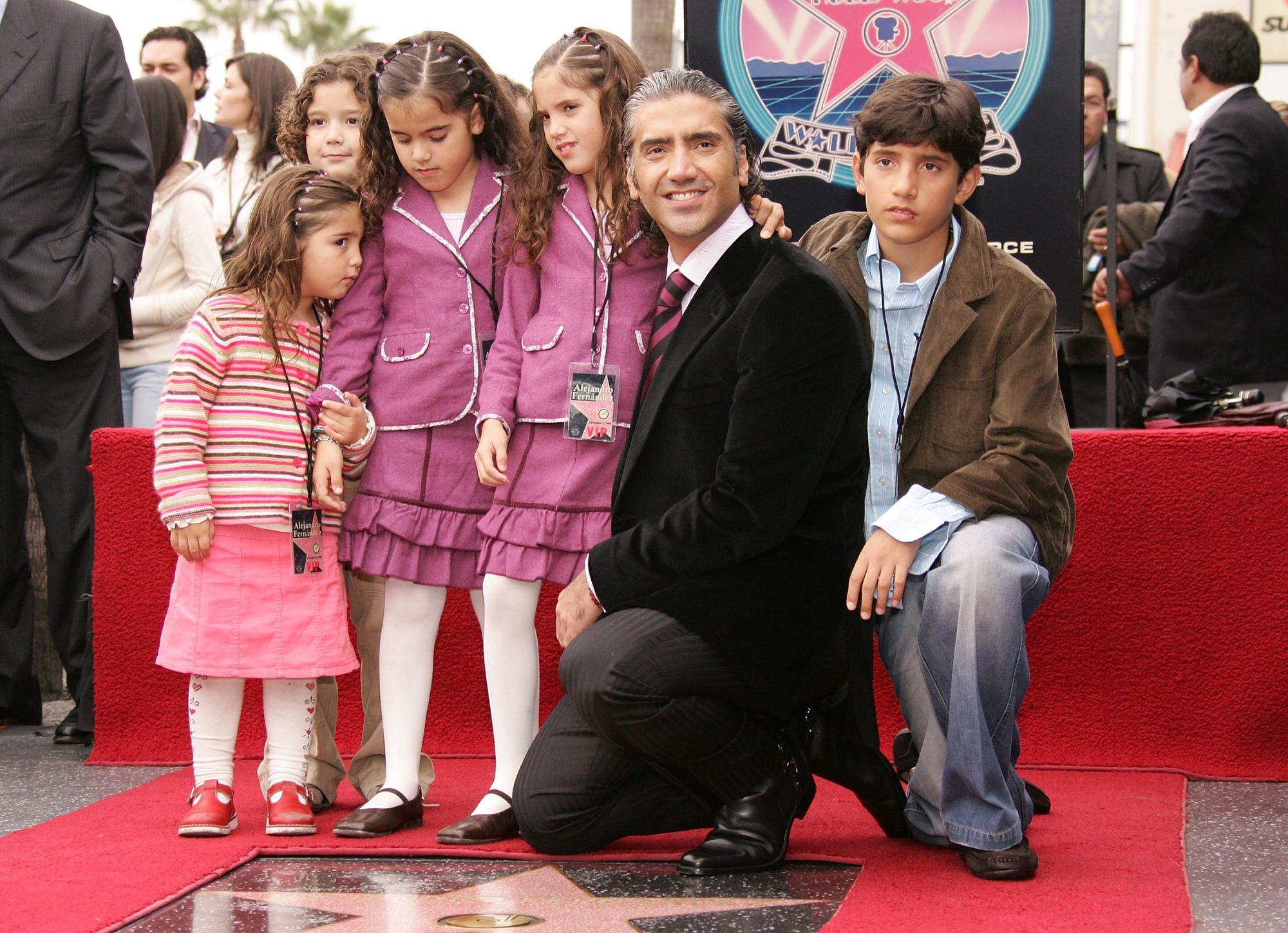 Los hijos de Alejandro Fernandez