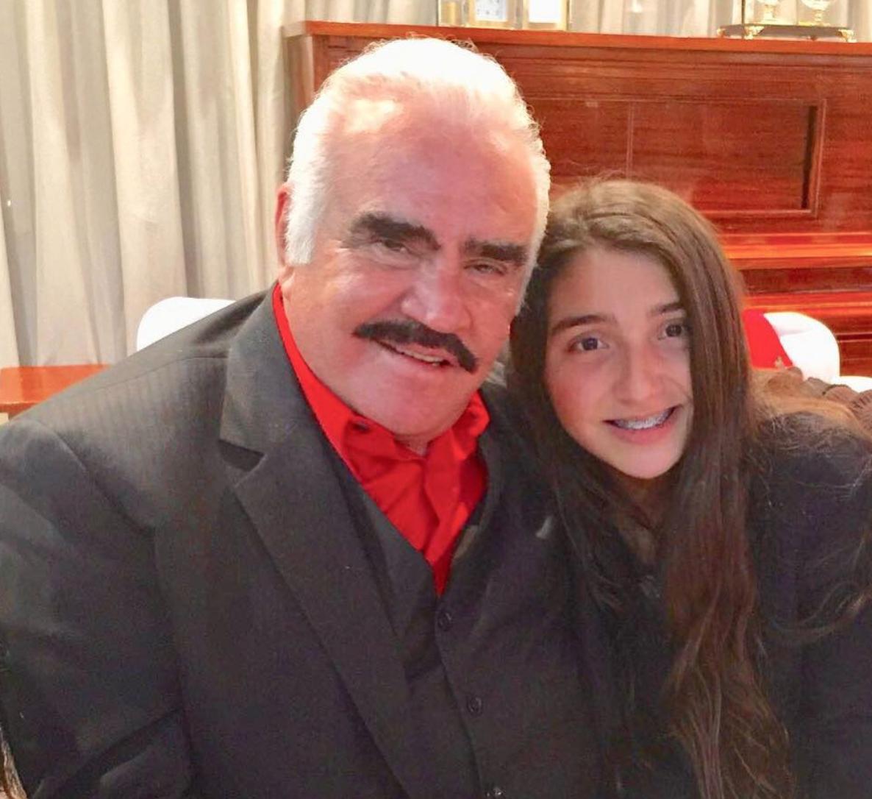 La hija de Alejandro Fernández