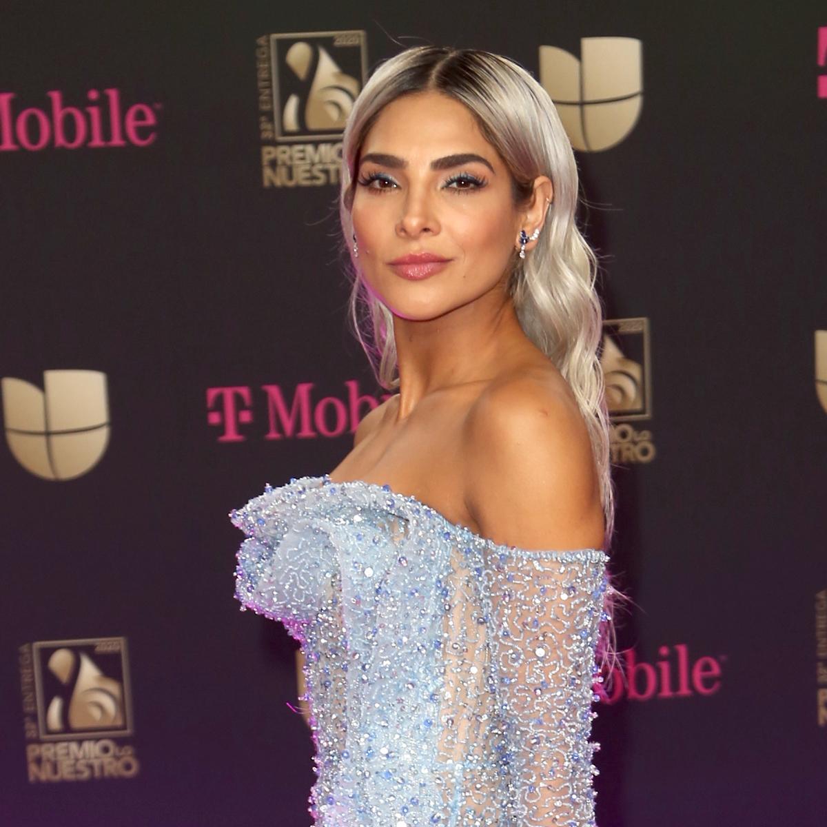 Alejandra Espinoza, premio lo nuestro 2020, los mejores looks de belleza