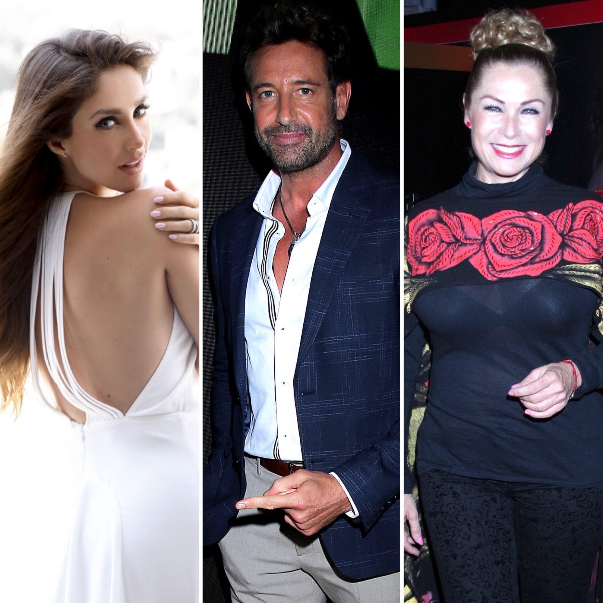 Anahi, Gabriel Soto y Leticia Calderon