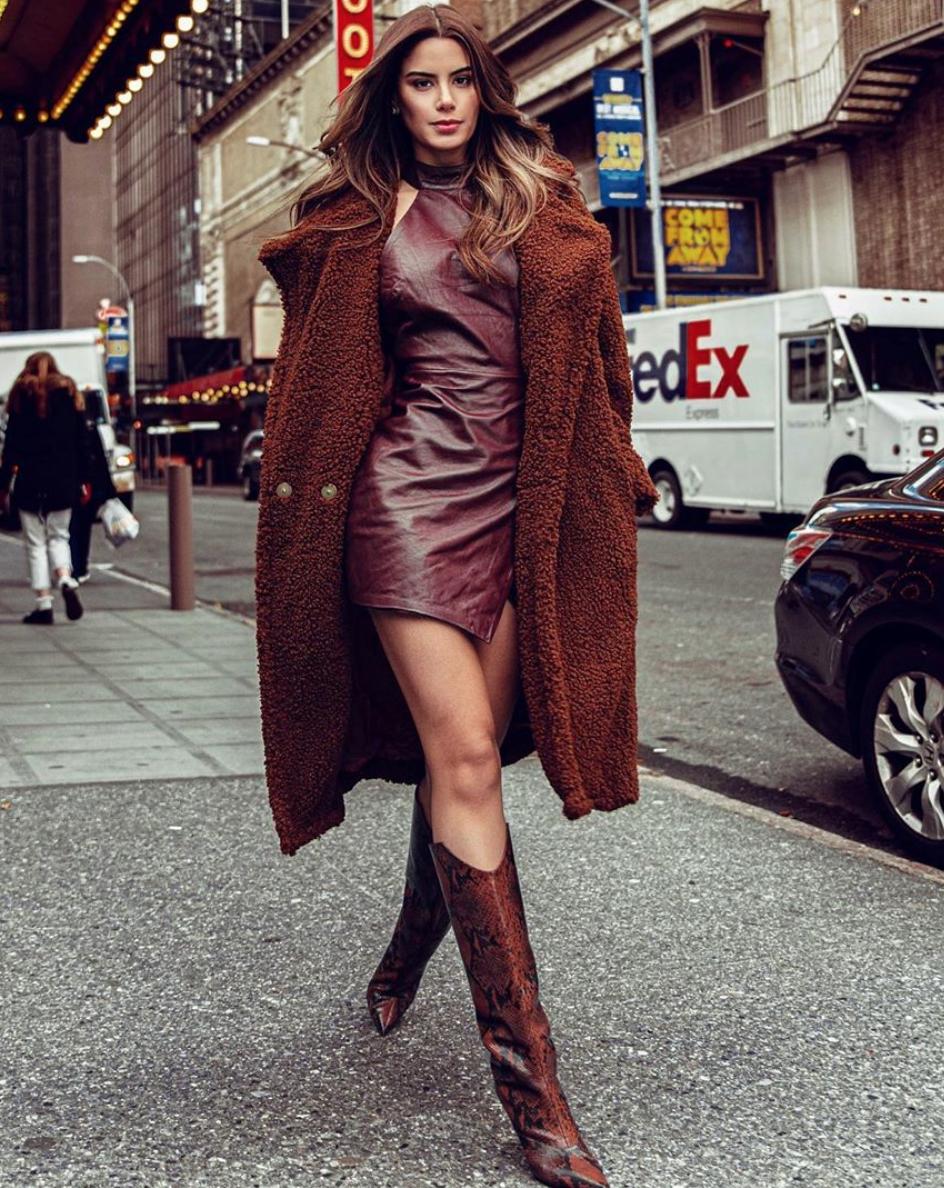 Ariadna Gutierrez, new york, looks