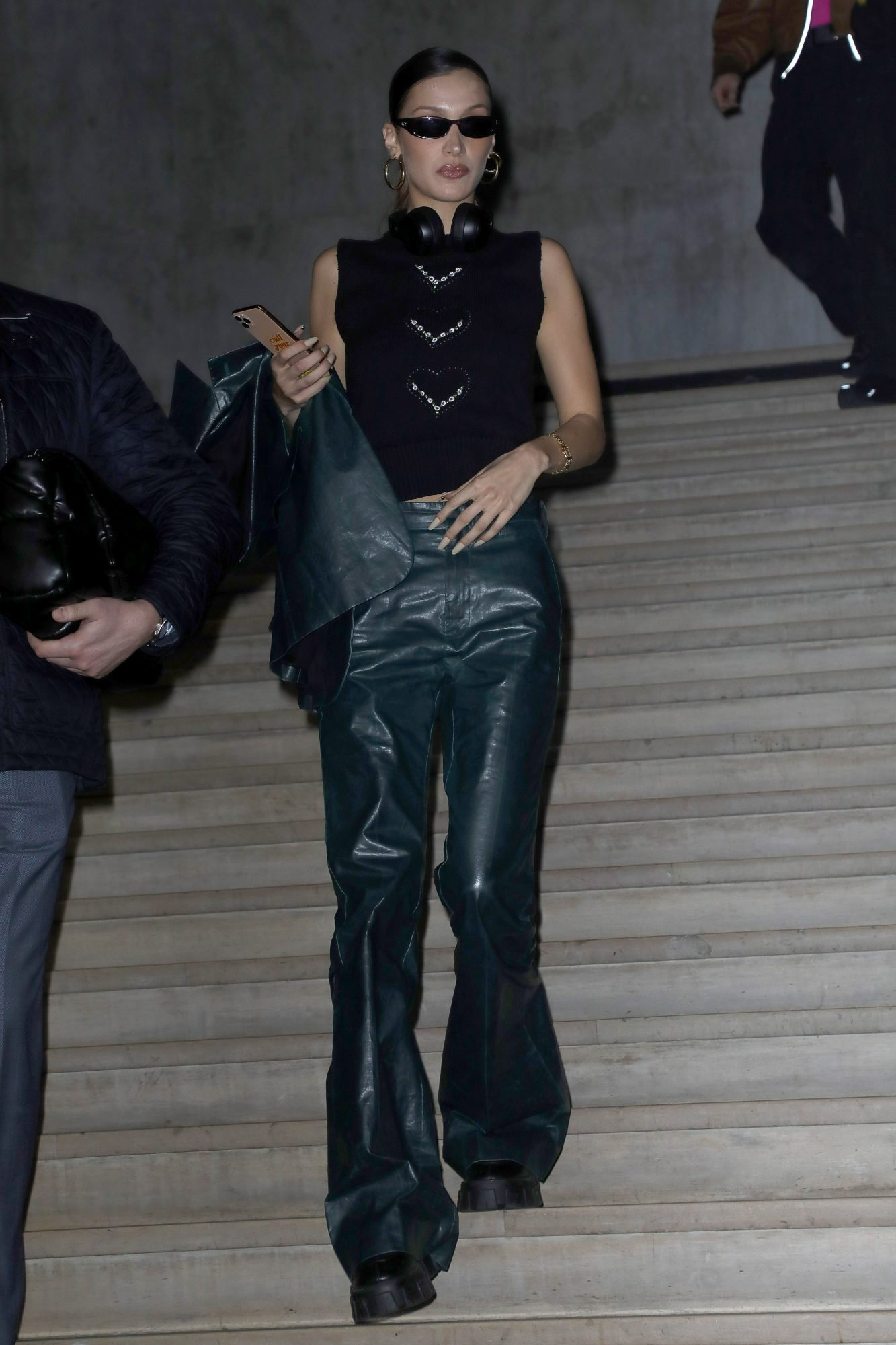 Bella Hadid, look, semana de la moda de Paris