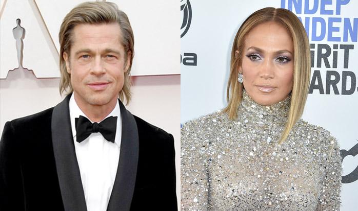 Brad Pitt Jennifer Lopez