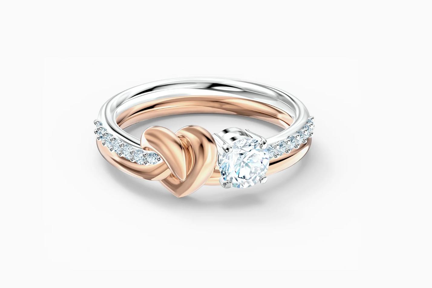 San Valentín joyería romántica anillo