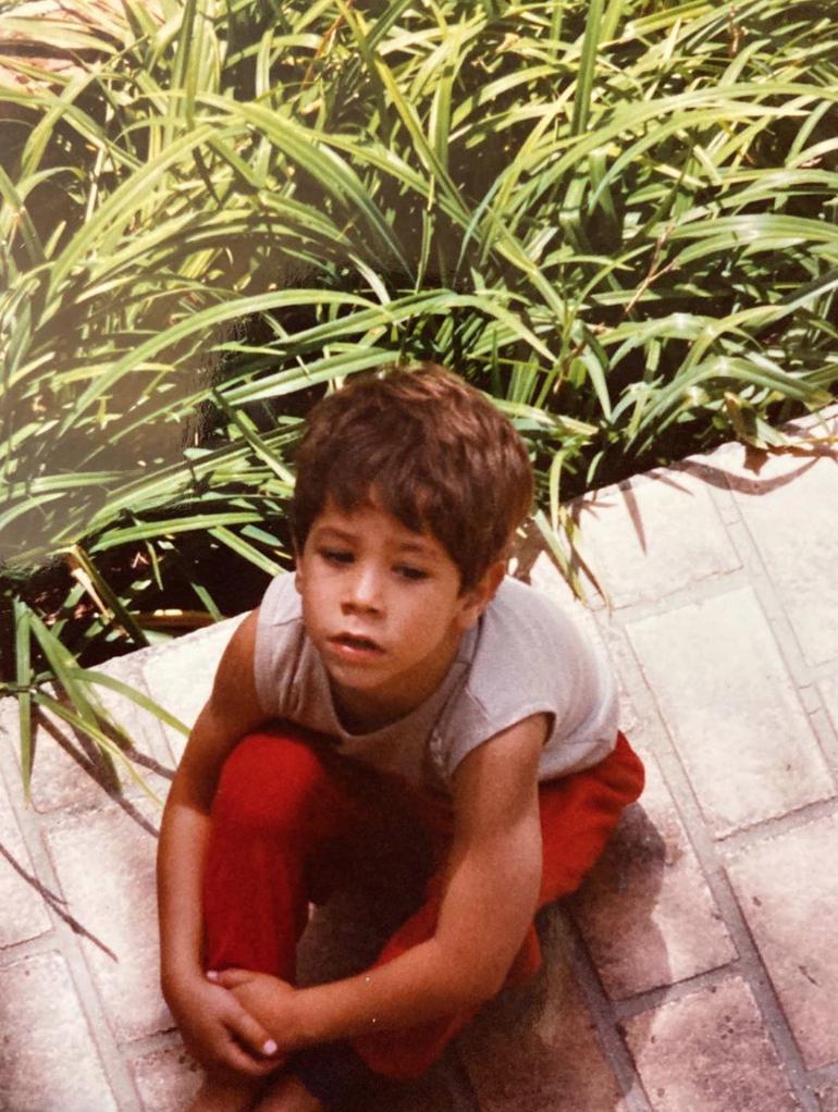 Christian Chavez comparte una foto del recuerdo