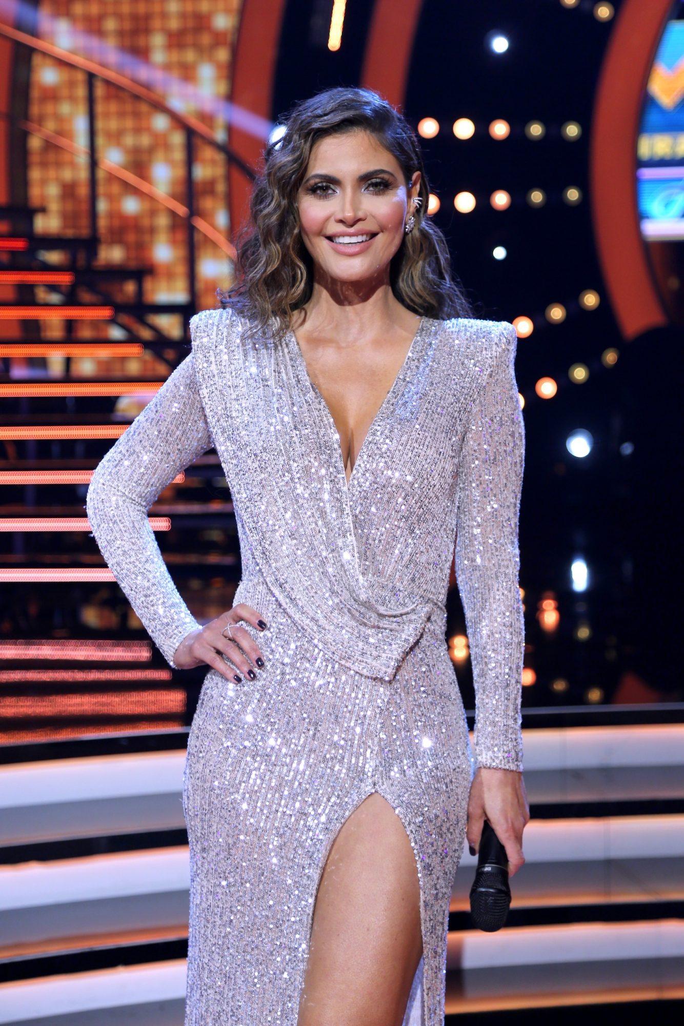 Chiquinquira Delgado, mira quien baila, maquillaje