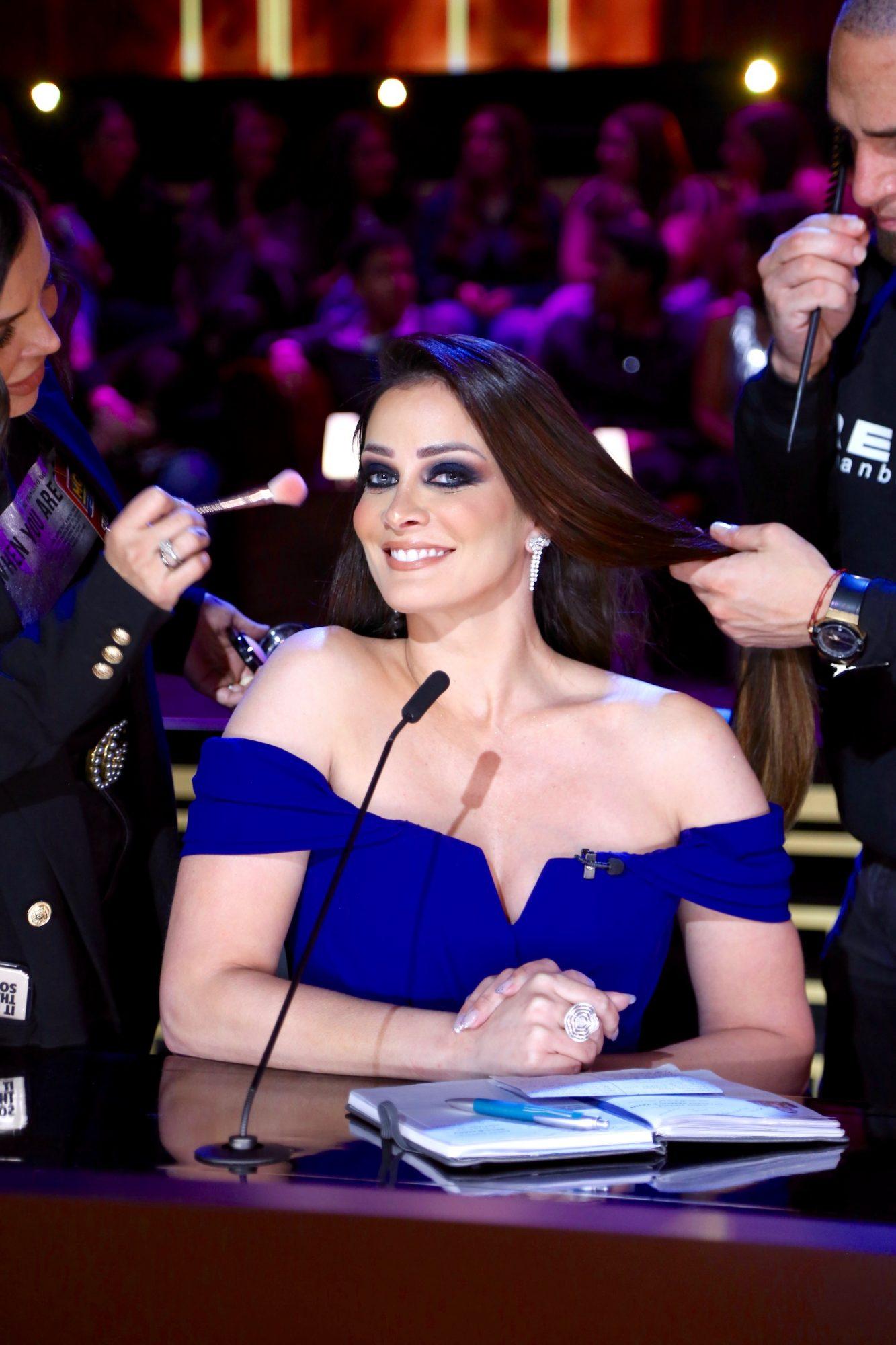 """Dayanara Torres en una de las jueces de """"Mira Quién Baila All Stars"""""""
