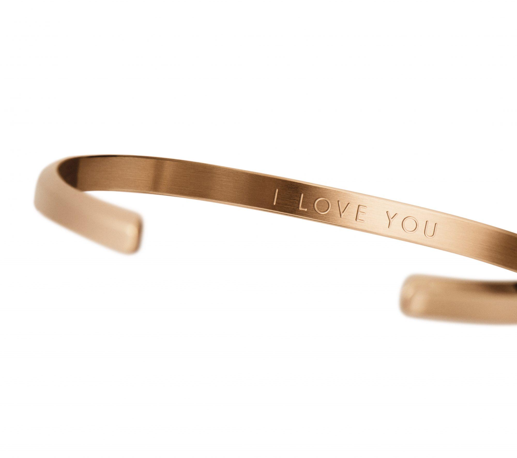 San Valentín joyería romántica pulsera