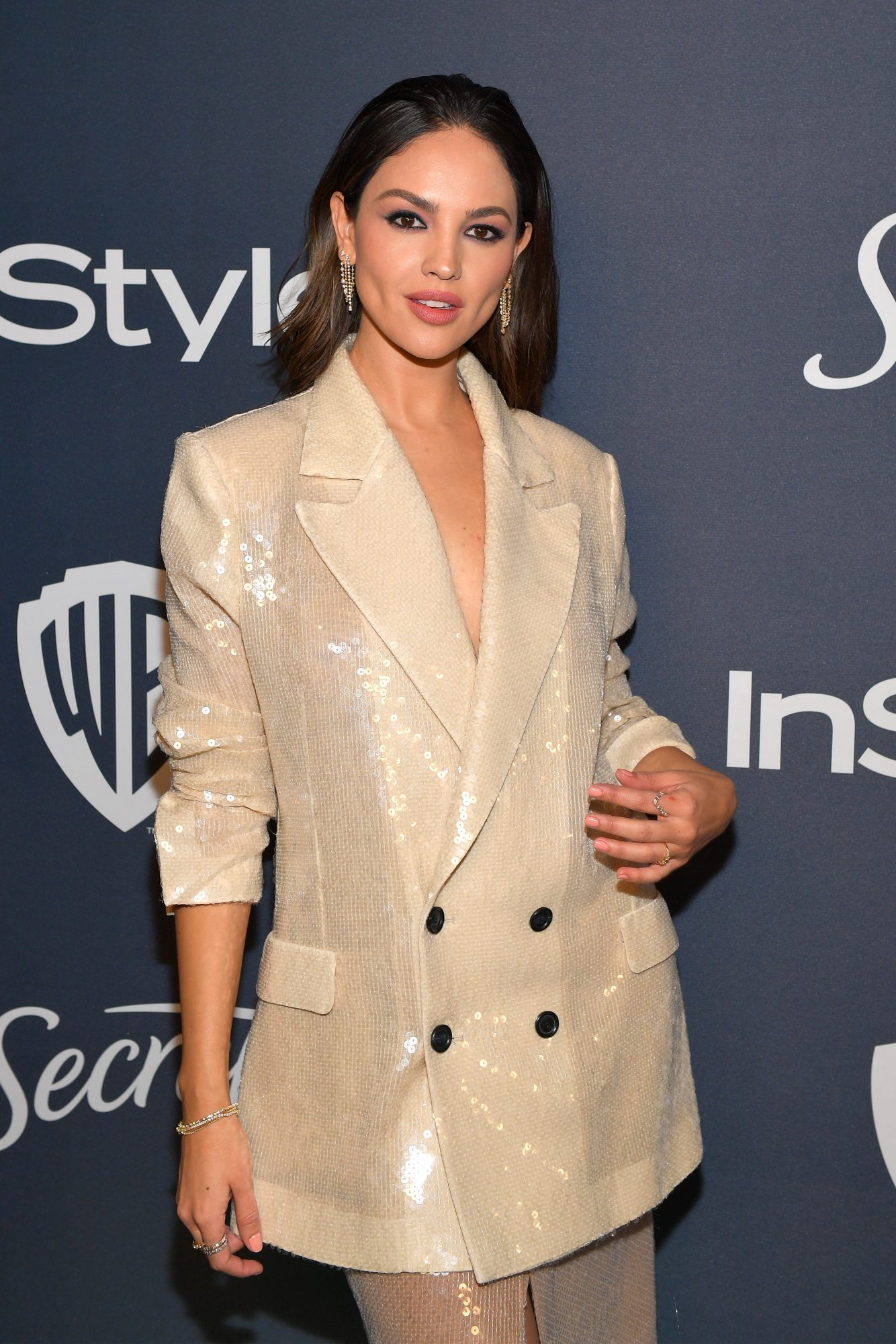 Eiza González 2020 InStyle y Warner Bros. 77th Annual Golden Globe Awards Post-Party