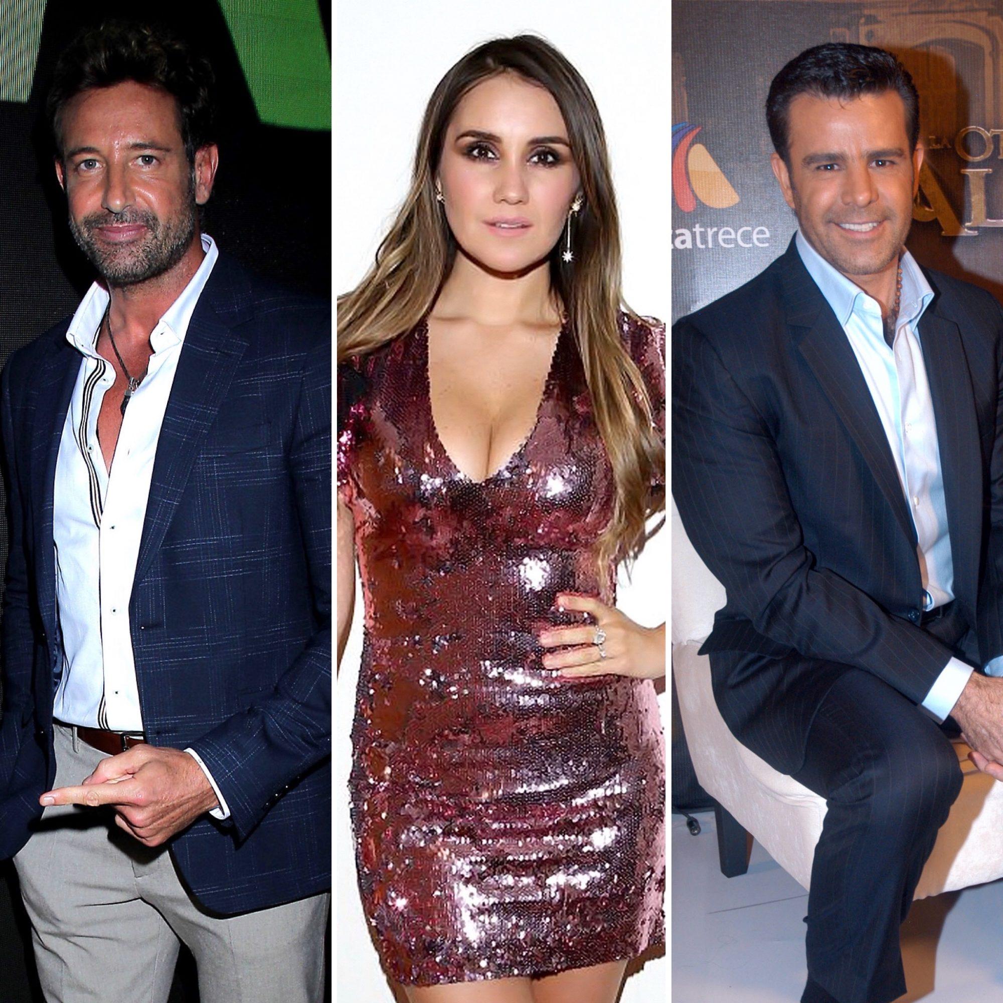 Gabriel Soto, Dulce María y Eduardo Capetillo