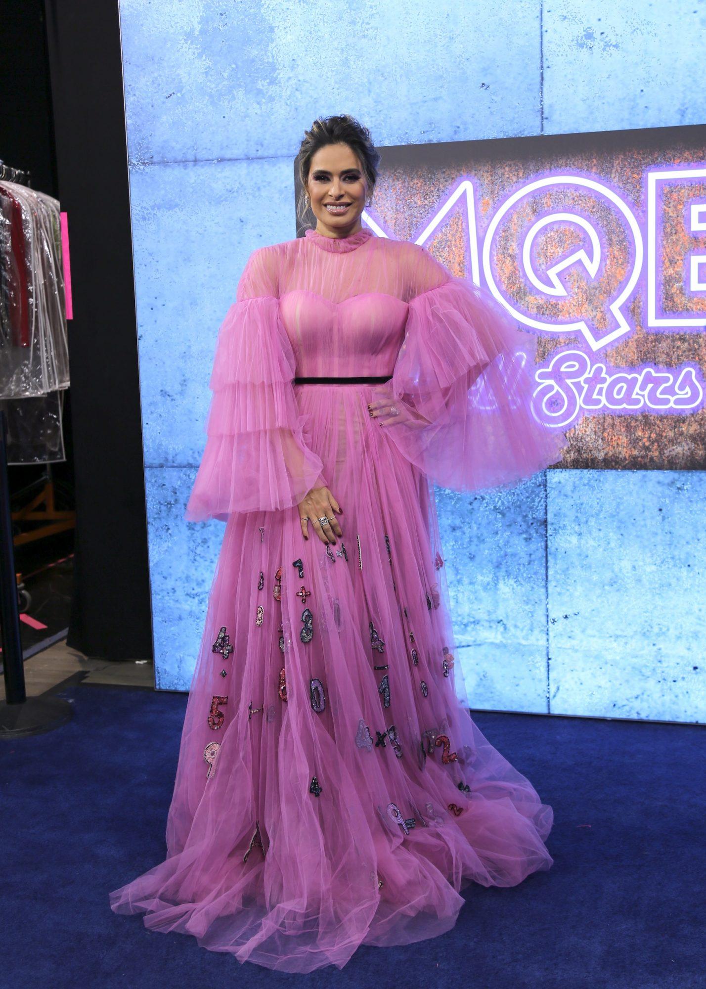 Galilea Montijo, look, vestido, Mira quien baila