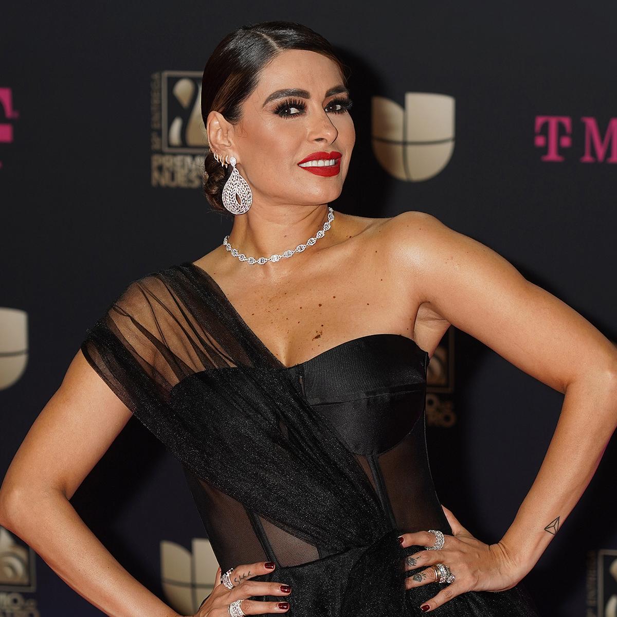 Galilea Montijo, premio lo nuestro 2020, los mejores looks de belleza
