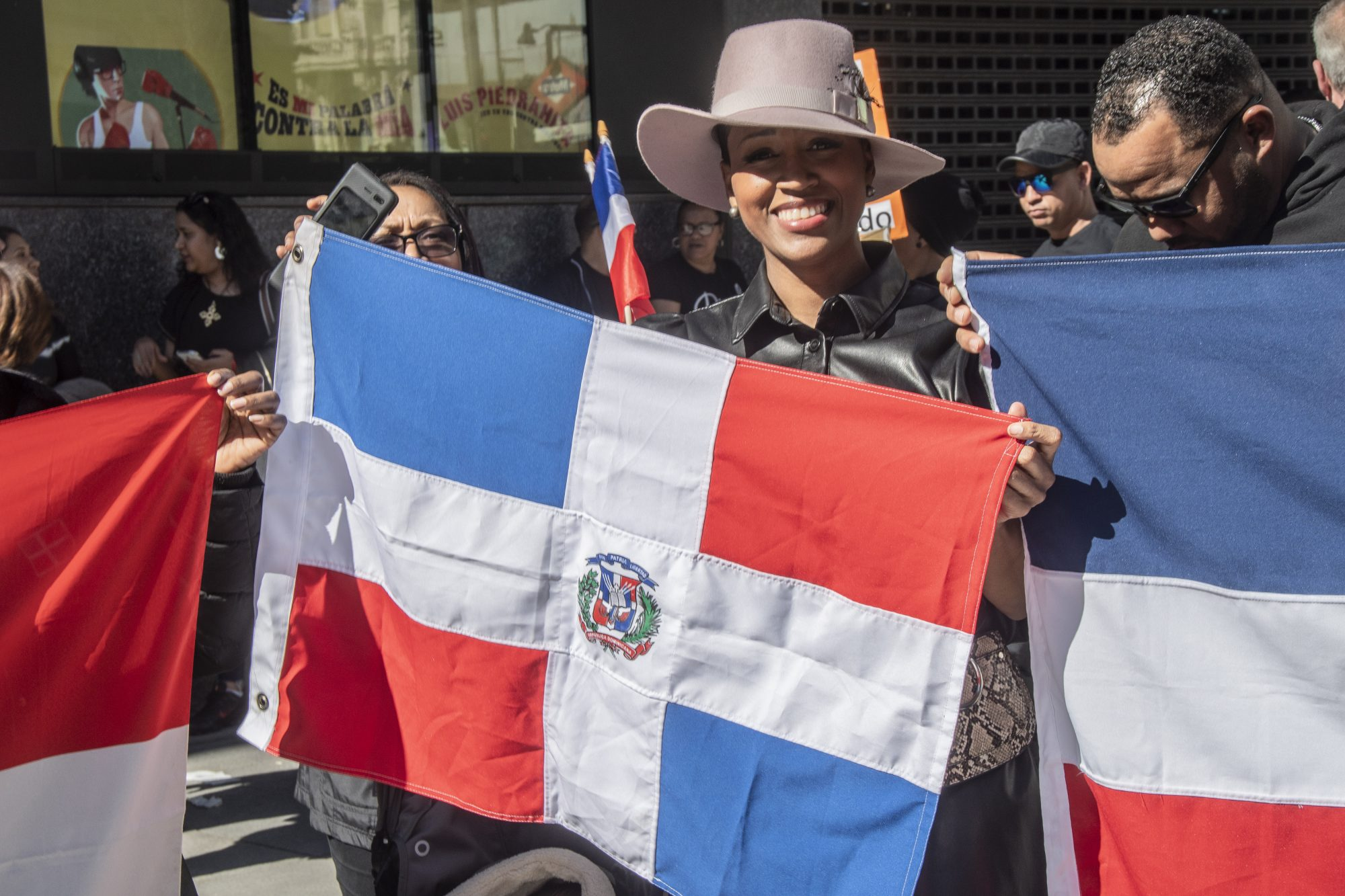 Hundreds of citizens of the Dominican Republic demonstrated