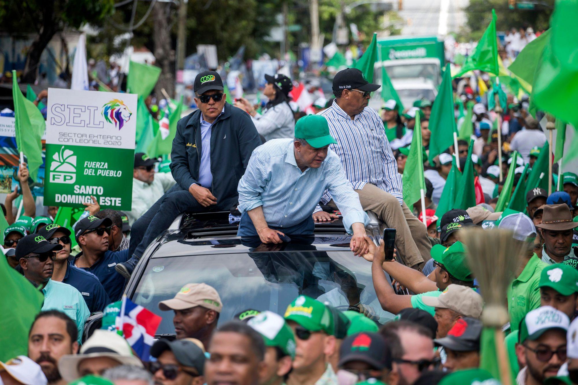 DOMINICAN REP-MUNICIPAL-ELECTION-SUSPENSION-PROTEST-FERNANDEZ