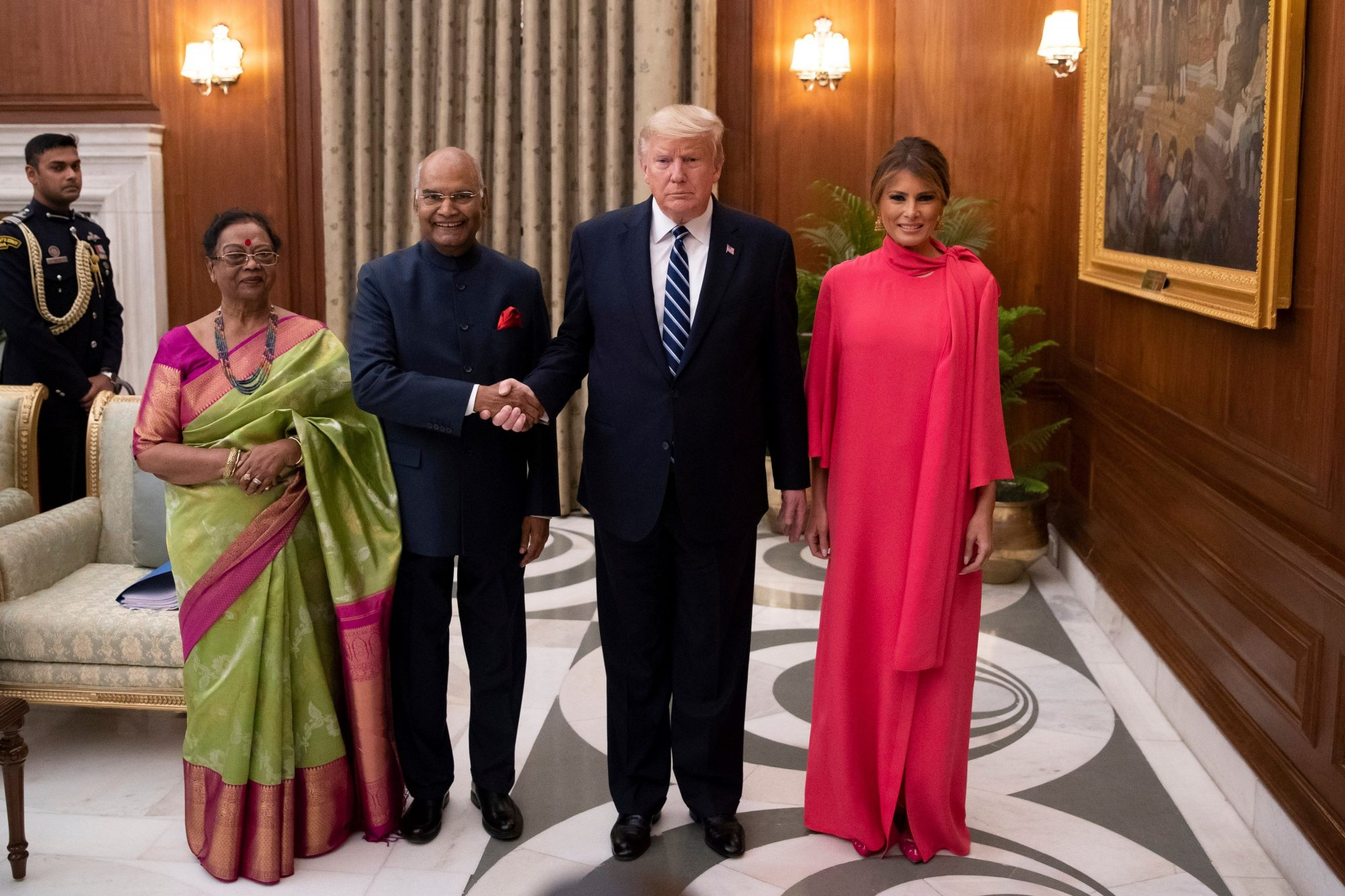 Melania Trump, looks, india