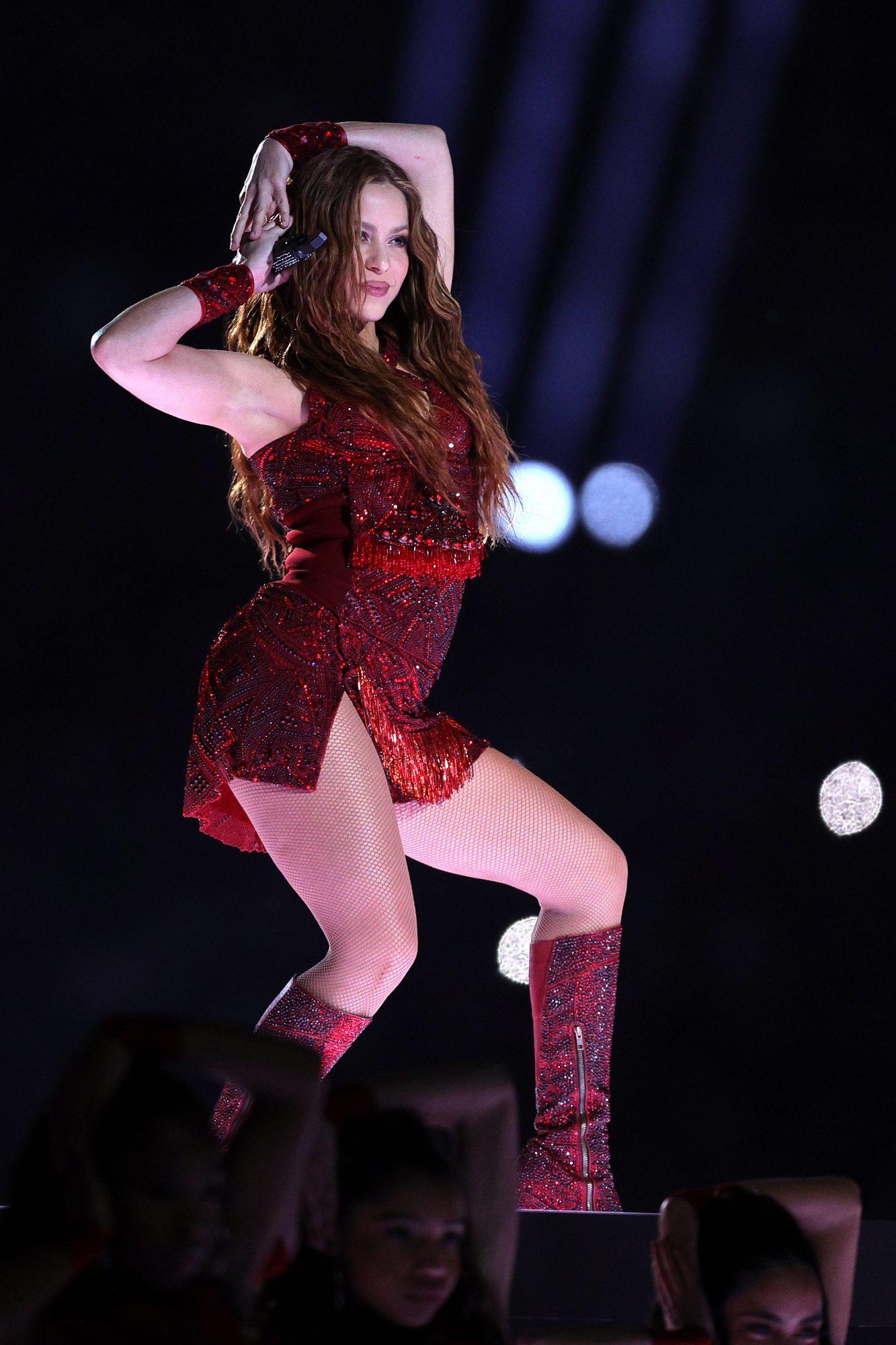 Shakira, Super bowl, botas
