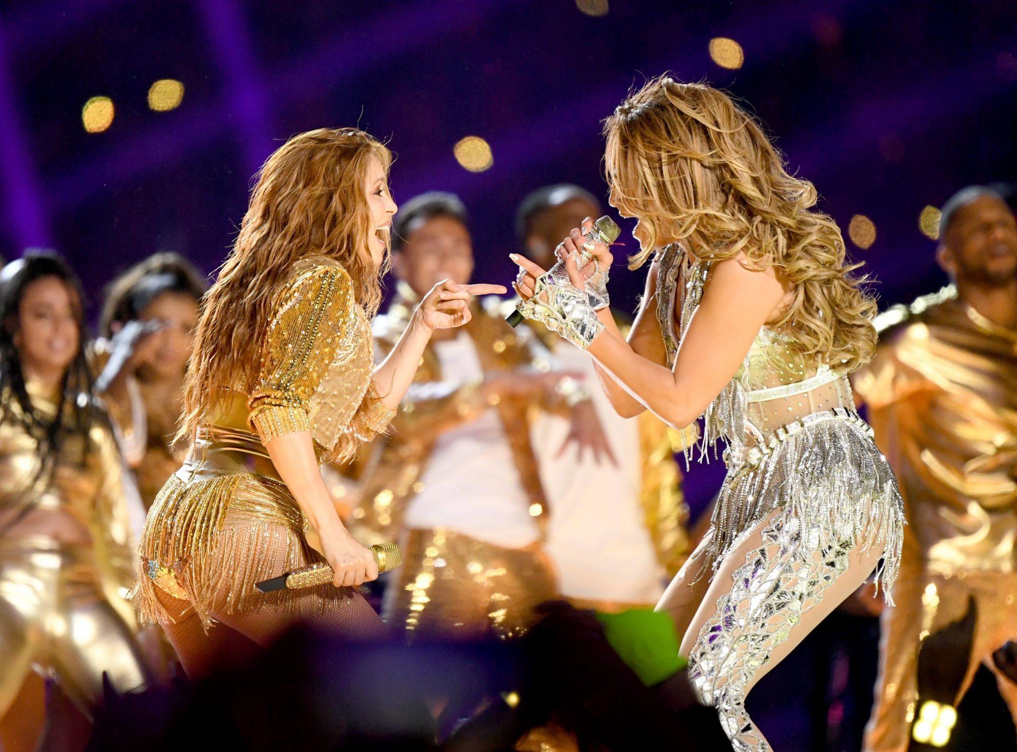 Shakira, Jennifer López