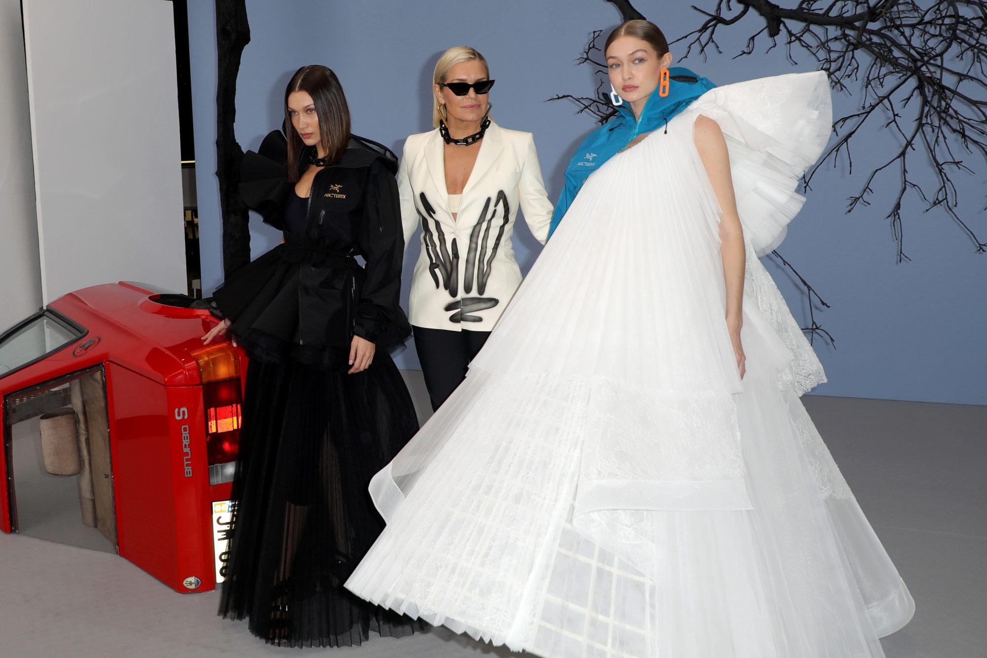 Gigi Hadid, Bella Hadid, Yolana Hadid, Paris, semana de la moda