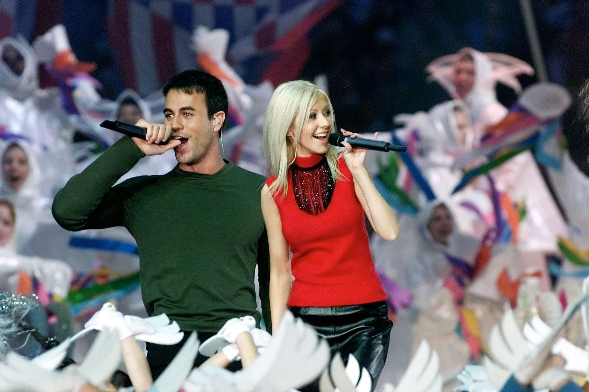 Christina Aguilera, Enrique Iglesias