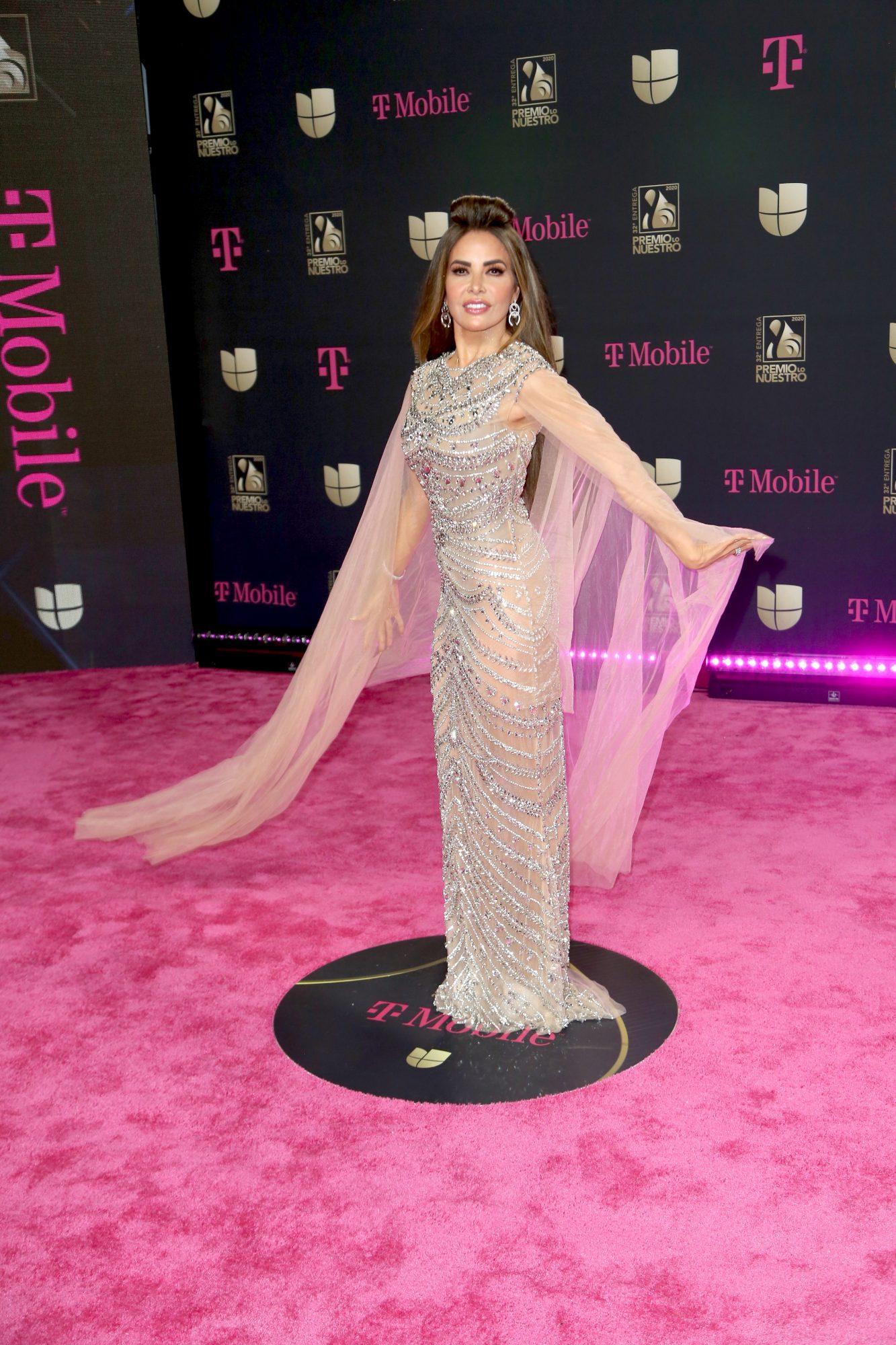 Gloria Trevi, premio lo nuestro, 2020, mejor vestidas