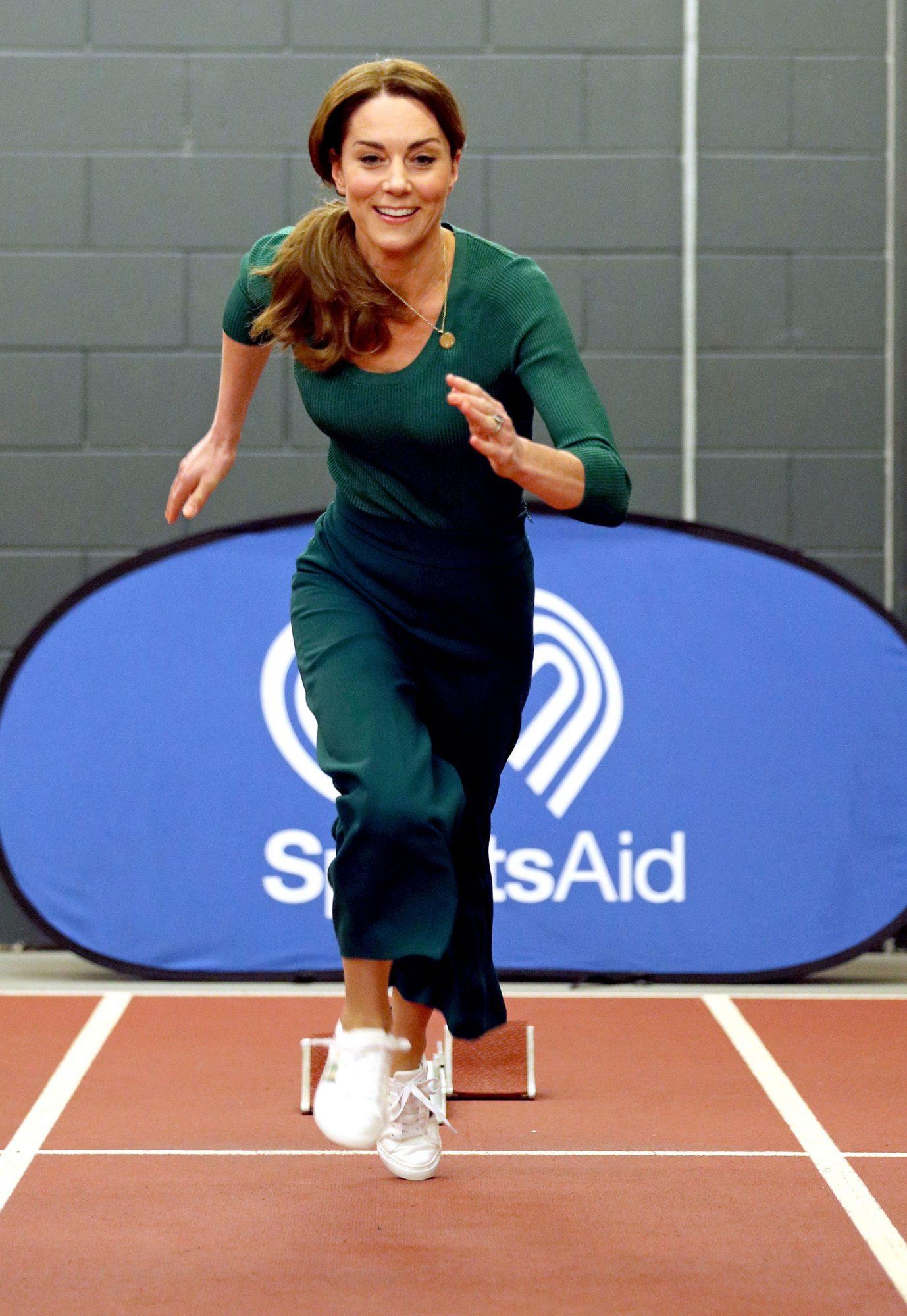 Kate Middleton en un evento
