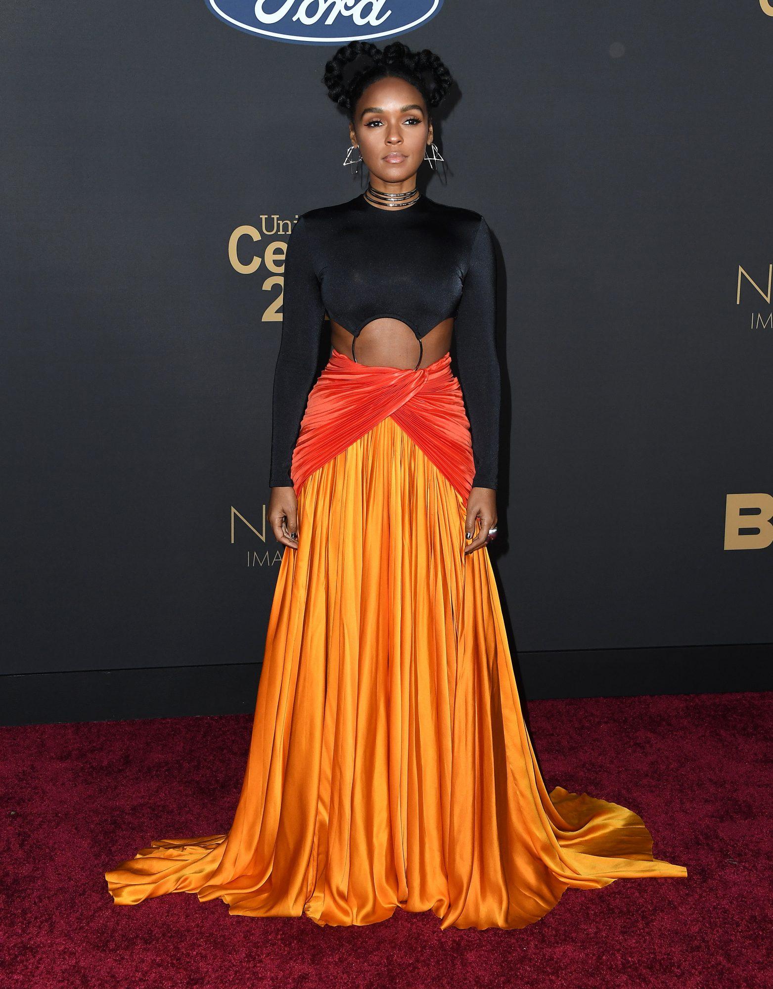 Janelle Monae, looks, dress, NAACP