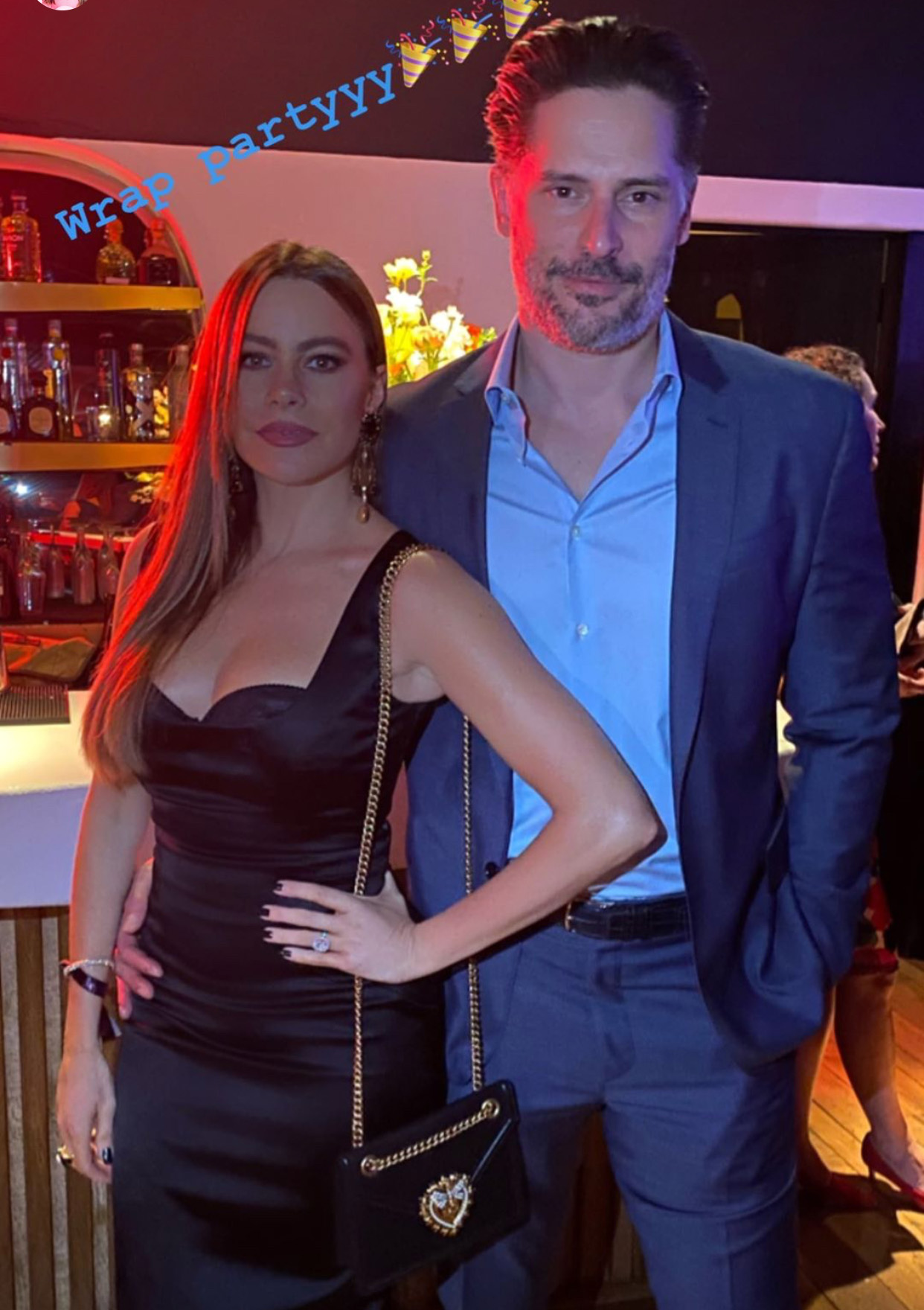 Sofía Vergara y Joe Manganiello wrap party Modern Family