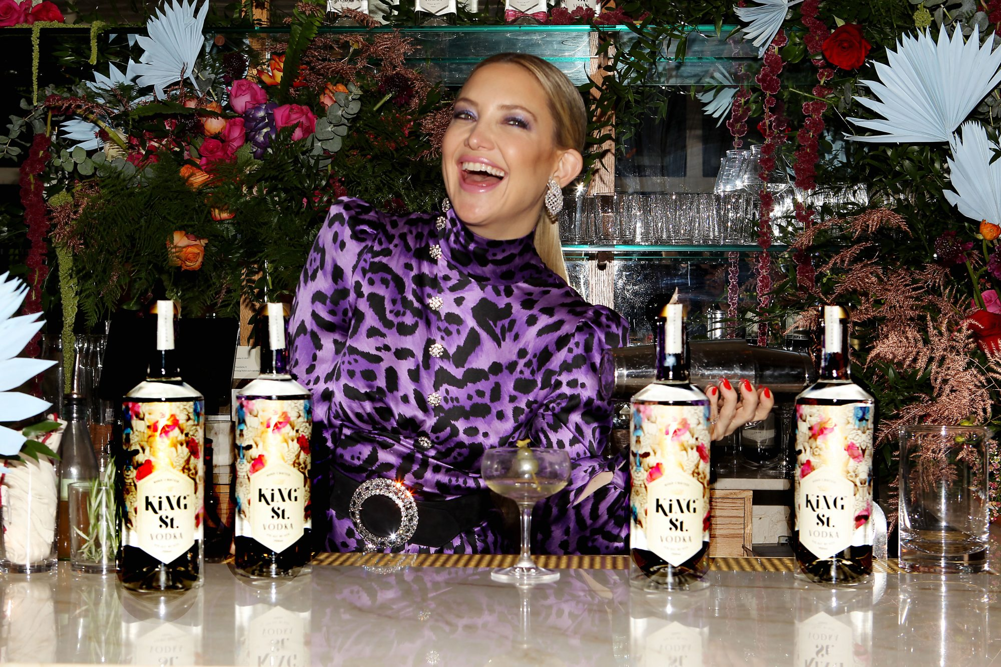 Kate Hudson vodka king st