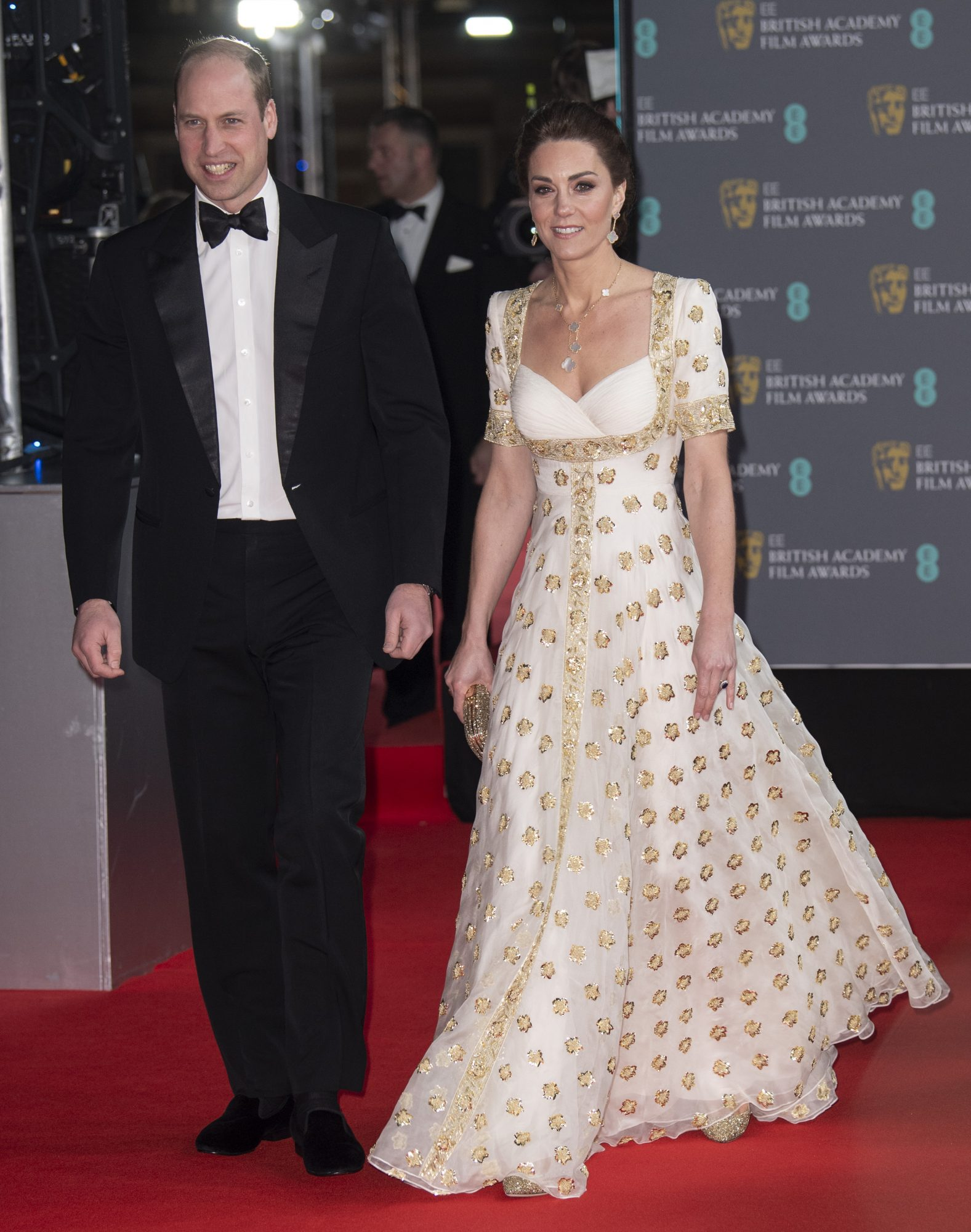 Prince William, Duke of Cambridge and Catherine, Duchess of Cambridge attend the EE British Academy Film Awards 2020