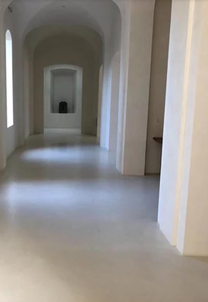 Kanye West en su casa