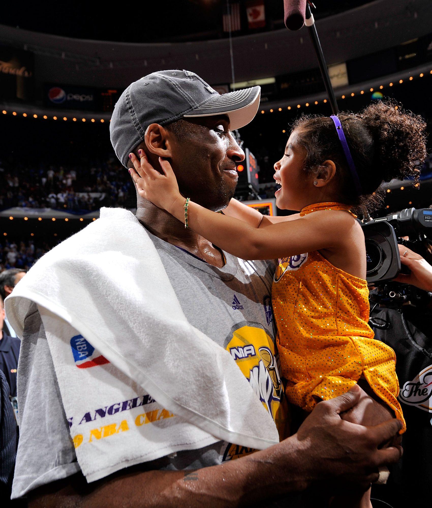 Kobe Bryant, Daughter GIanna
