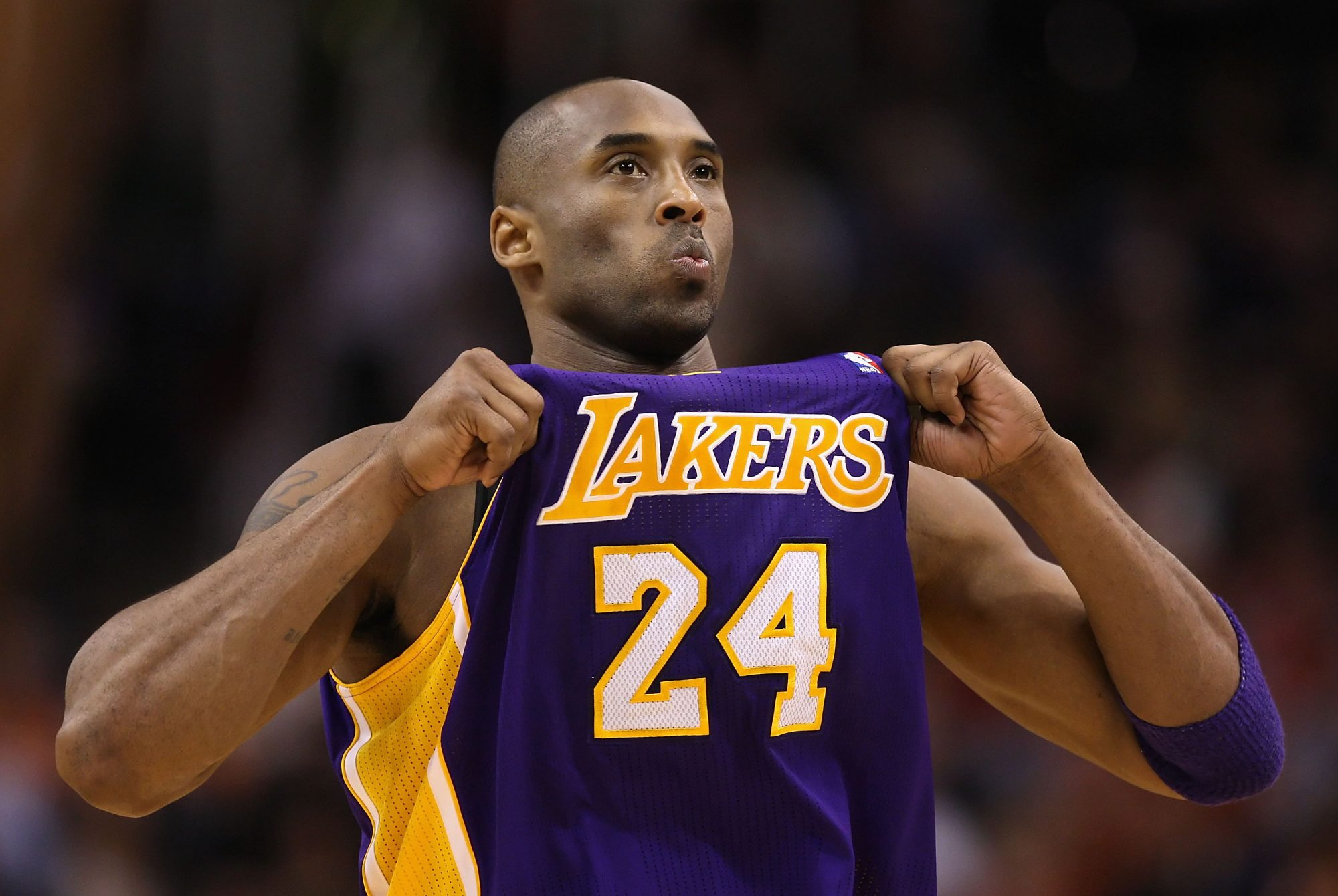 Kobe Bryant #24, Los Angeles Lakers