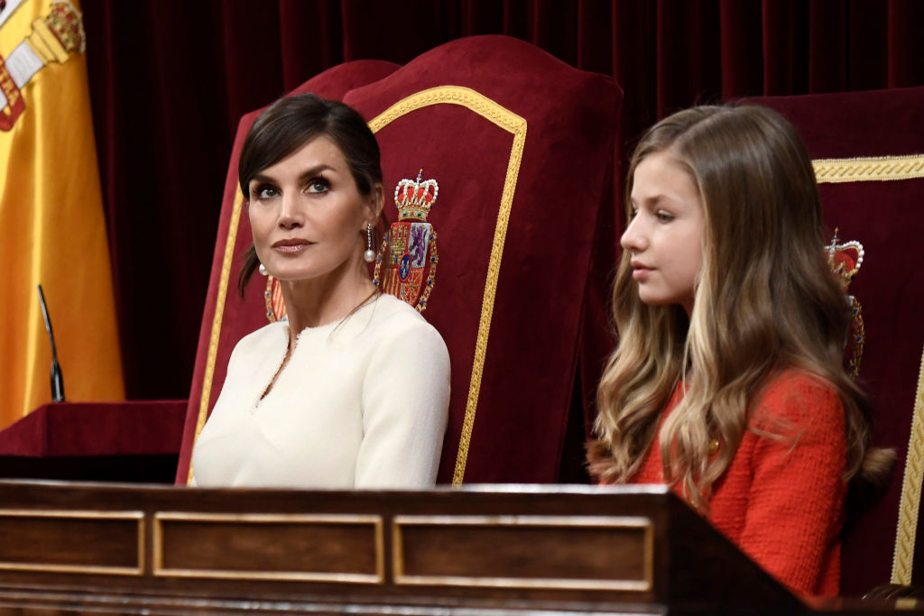 princesa Leonor reina Letizia